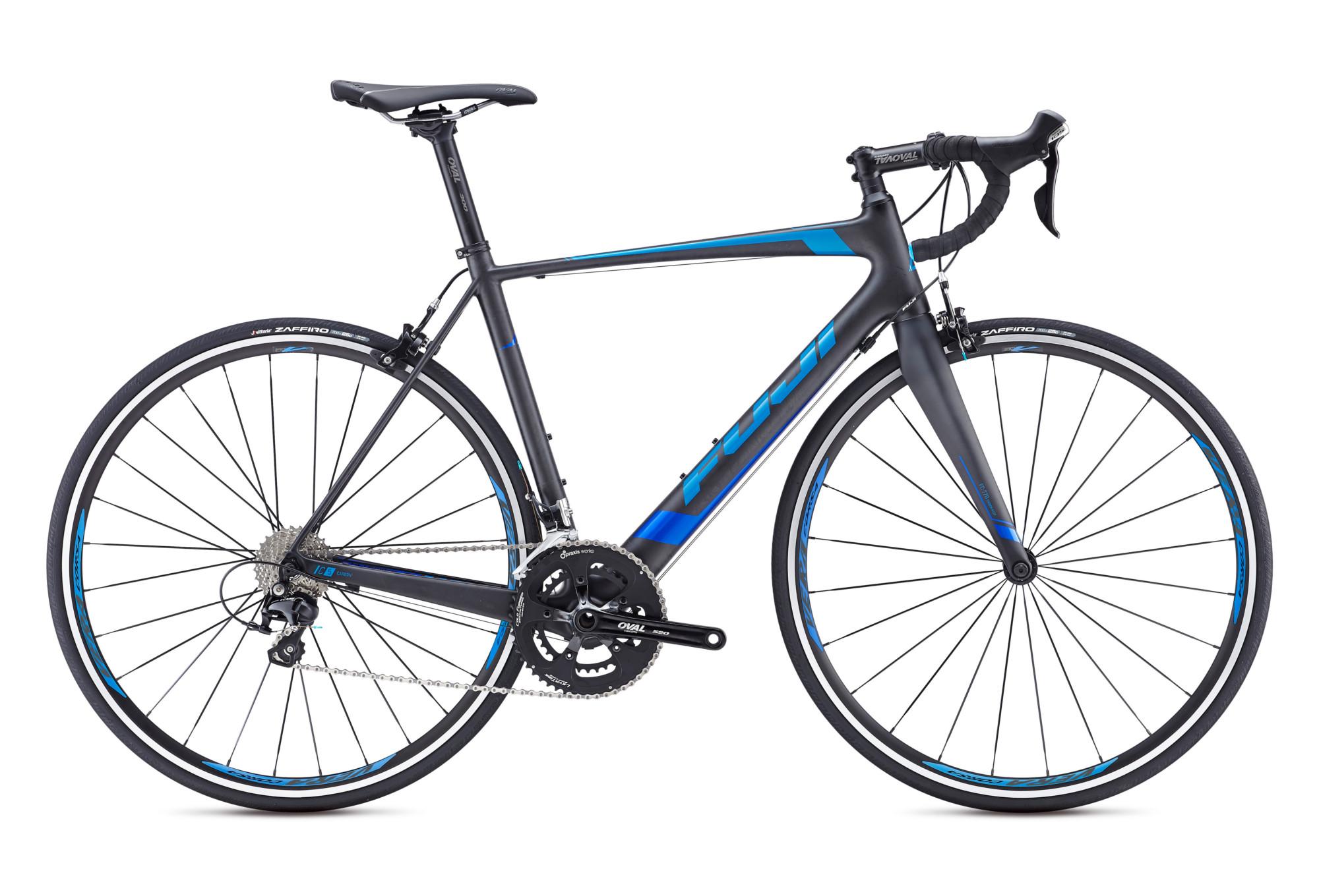 Fuji 2016 Road Bike Altamira 1 3 Shimano 105 11s Black Blue