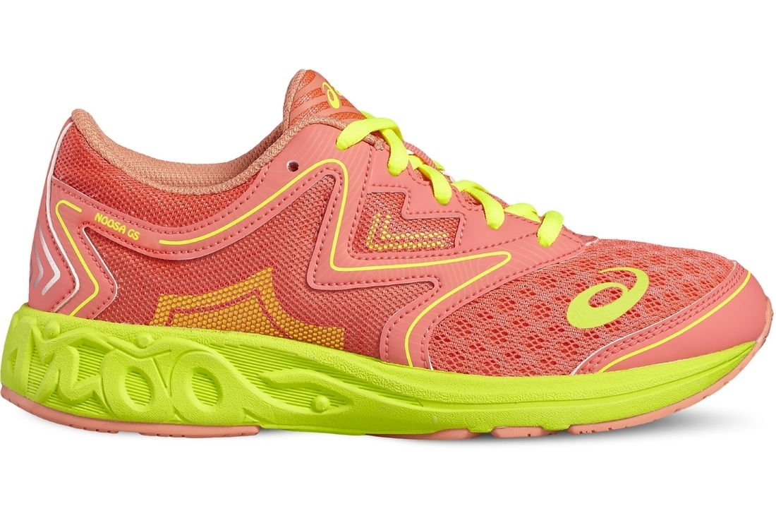Conception innovante 07dec 9a5a1 Asics Noosa Gs C711N-2030 Enfant mixte Chaussures de running Rose