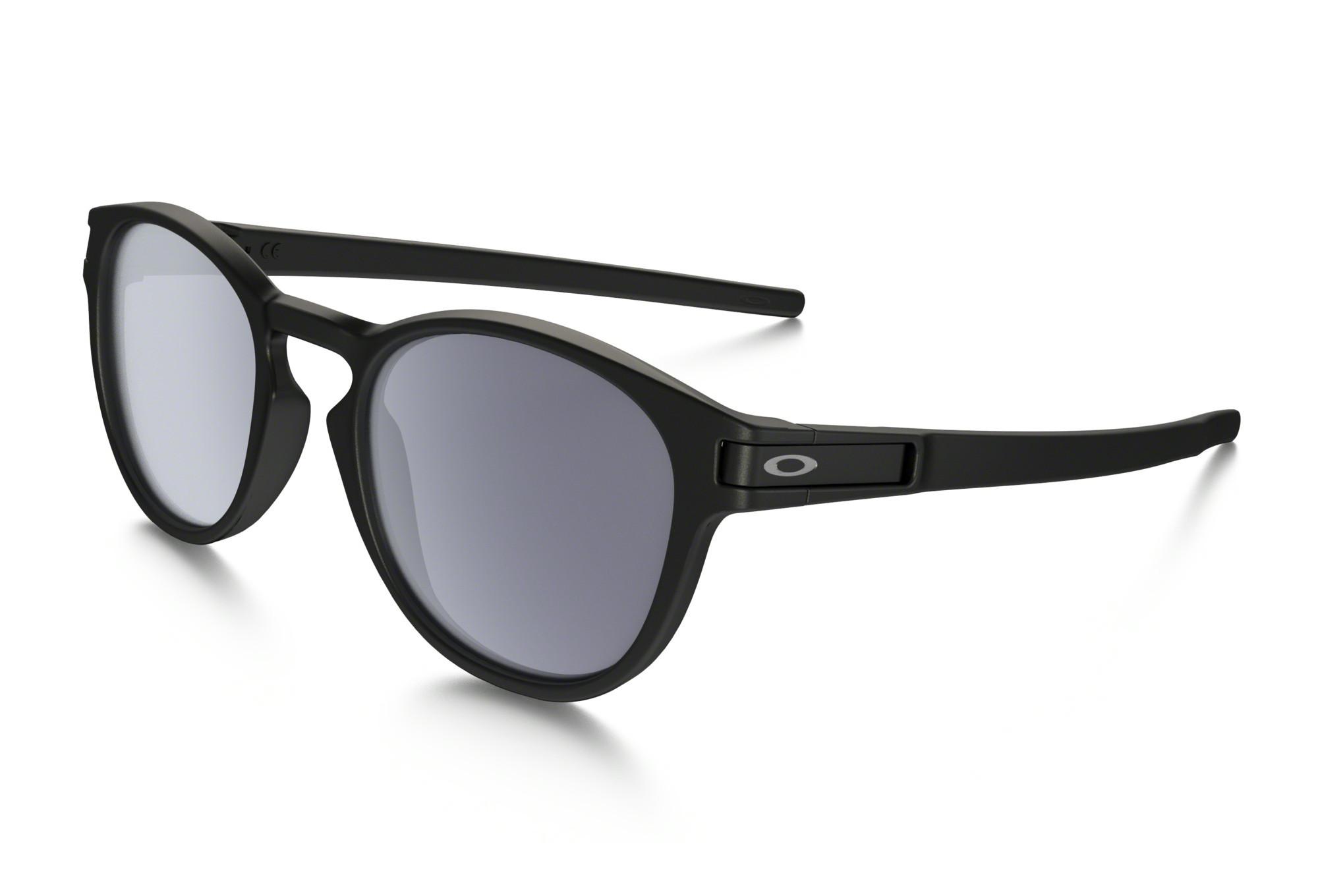 ddf344d4ff7 OAKLEY Sunglasses LATCH Matte Black Grey Ref OO9265-01