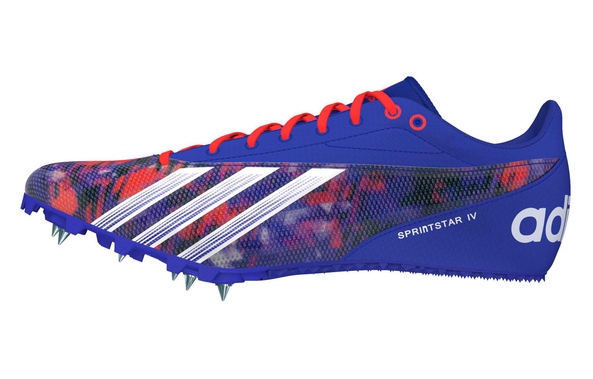 adidas Performance Sprint Star 4 Violet - Chaussures Chaussures-de-running Homme