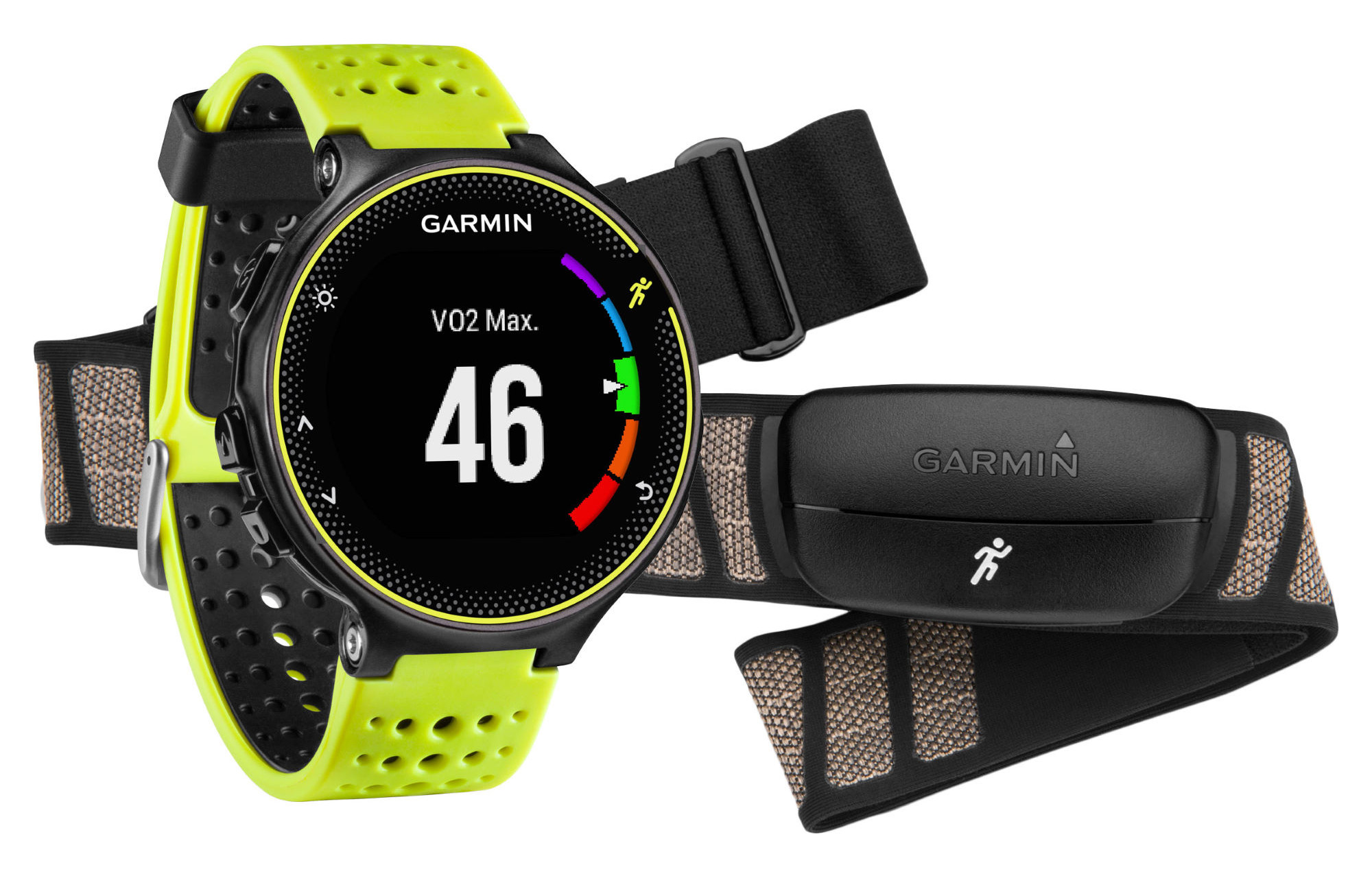 garmin forerunner 230 running watch hrm pack. Black Bedroom Furniture Sets. Home Design Ideas