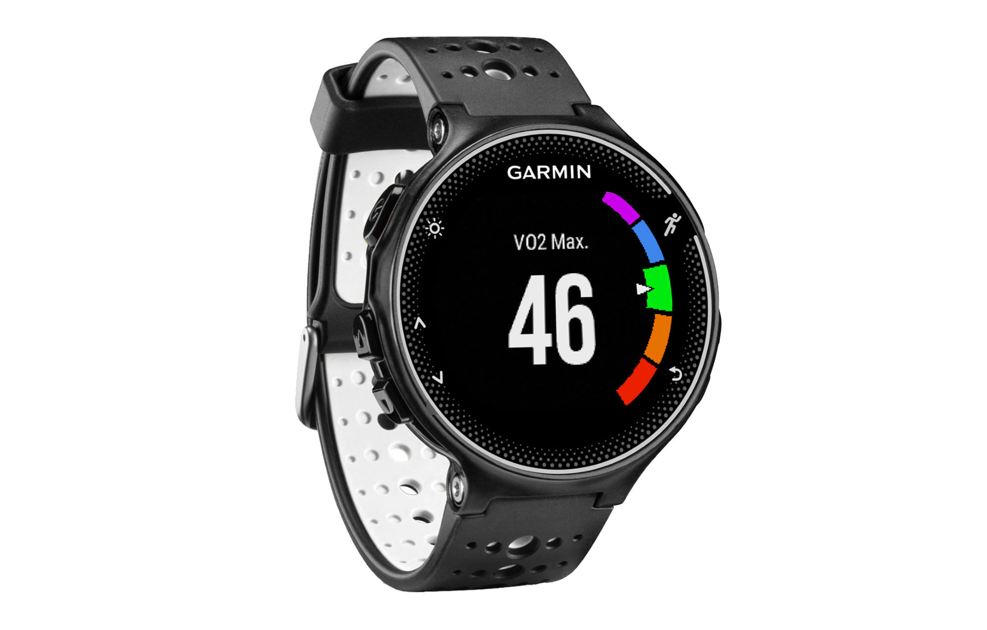 garmin montre gps forerunner 230 noir blanc. Black Bedroom Furniture Sets. Home Design Ideas