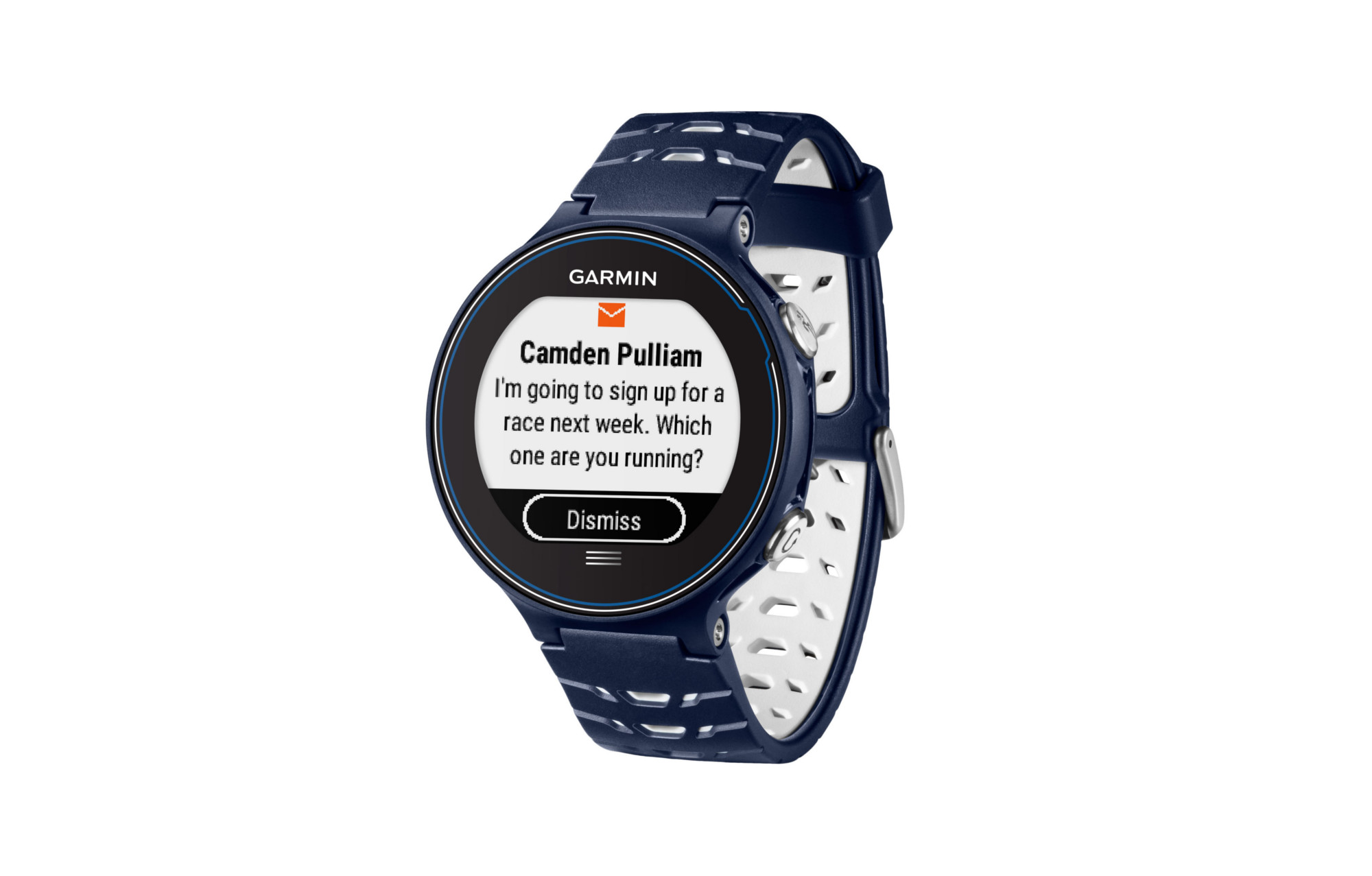 garmin montre gps forerunner 630 pack hrm4 bleu blanc. Black Bedroom Furniture Sets. Home Design Ideas