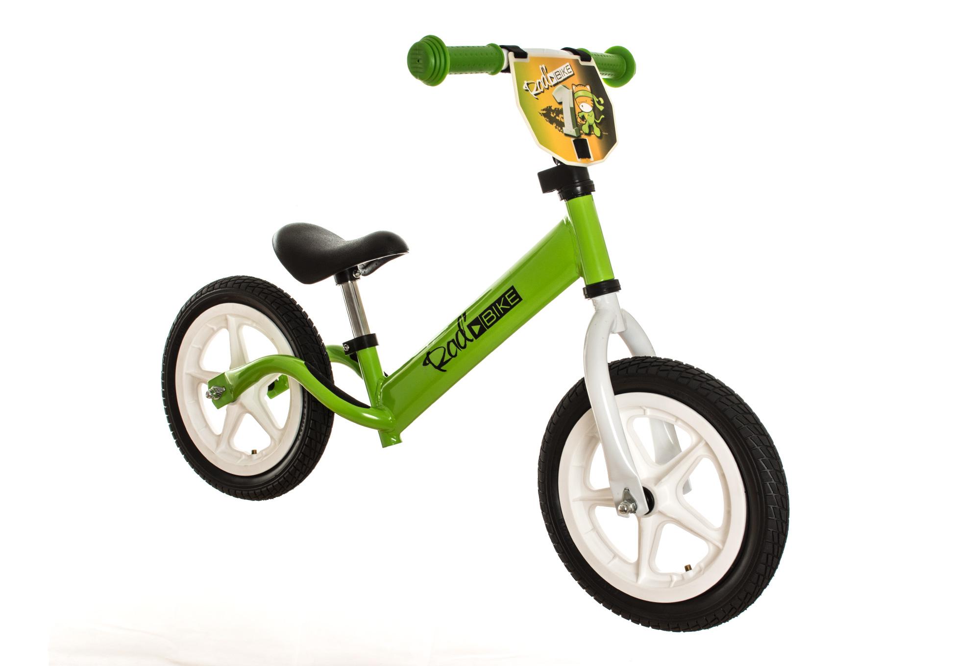 rad bike push bike 12 39 39 2 3 years green. Black Bedroom Furniture Sets. Home Design Ideas