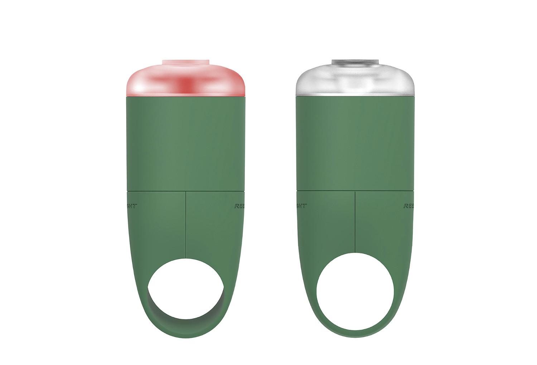 Amazon.com : Reelight Ego Combo Front/Rear Lights with USB ...