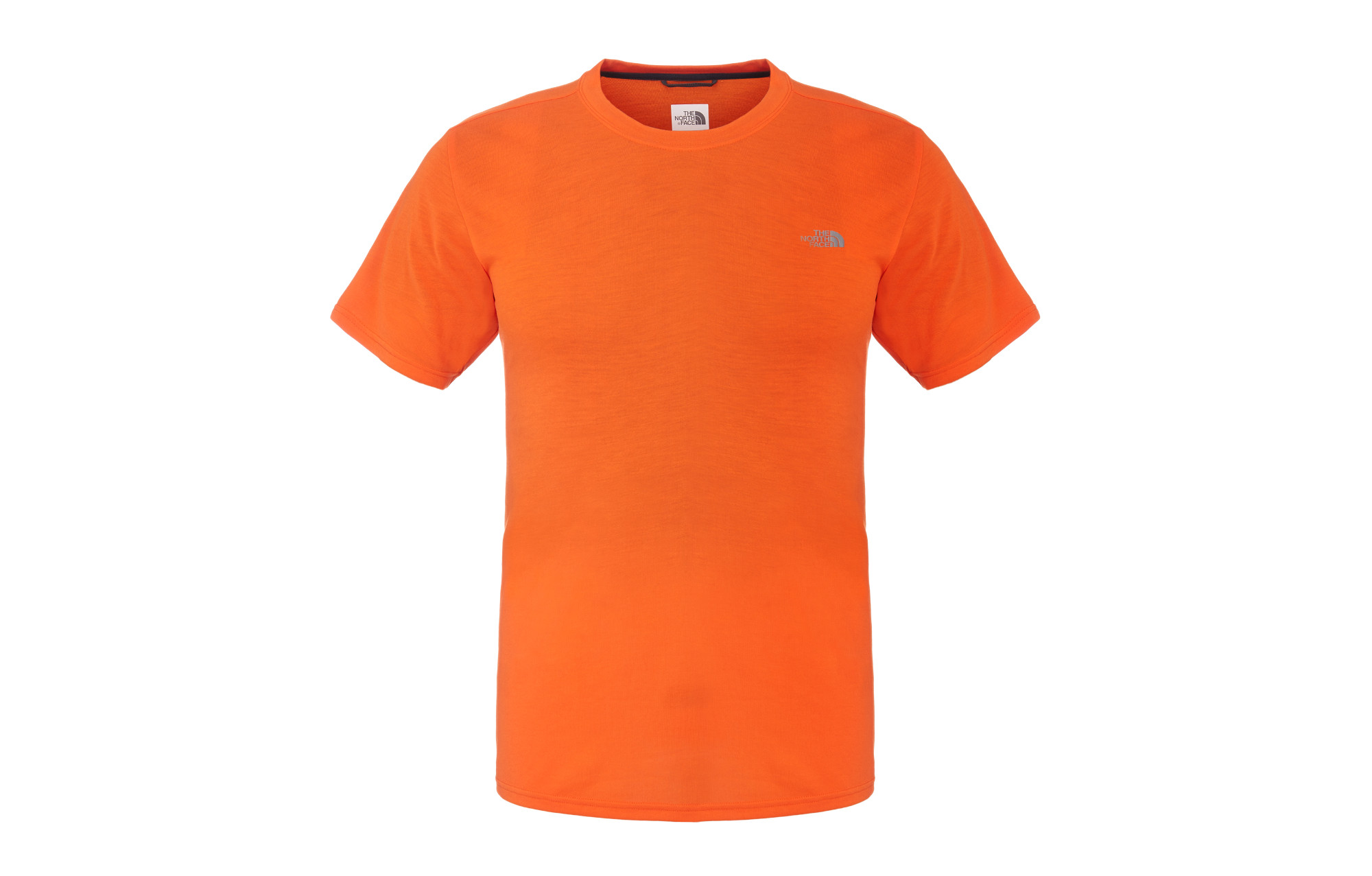 the north face t shirt reaxion orange homme