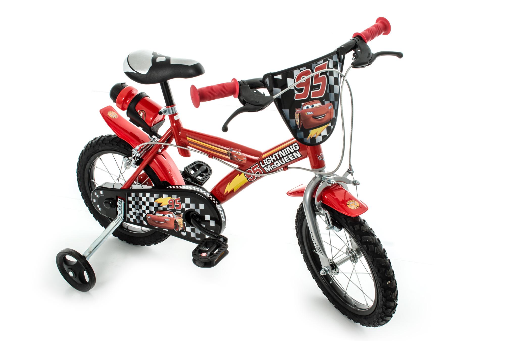 v lo enfant ville enfant dino bikes cars 16 39 39 rouge 4. Black Bedroom Furniture Sets. Home Design Ideas