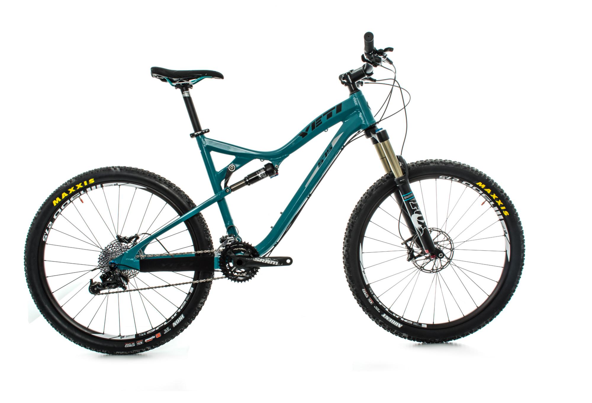 YETI 2014 575 Turquoise 27.5\'\' 146mm + Enduro Kit Complete Bike ...