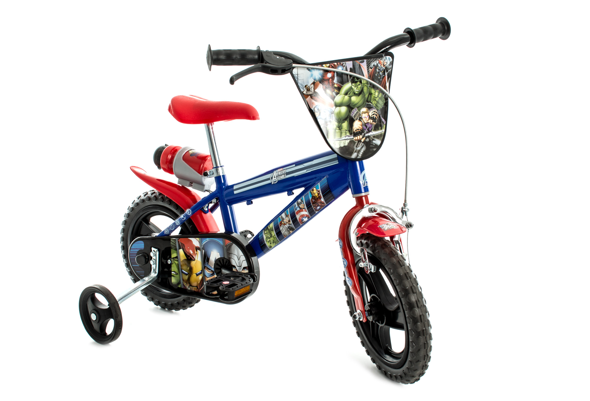 v lo enfant ville enfant dino bikes avengers 12 39 39 bleu 3. Black Bedroom Furniture Sets. Home Design Ideas