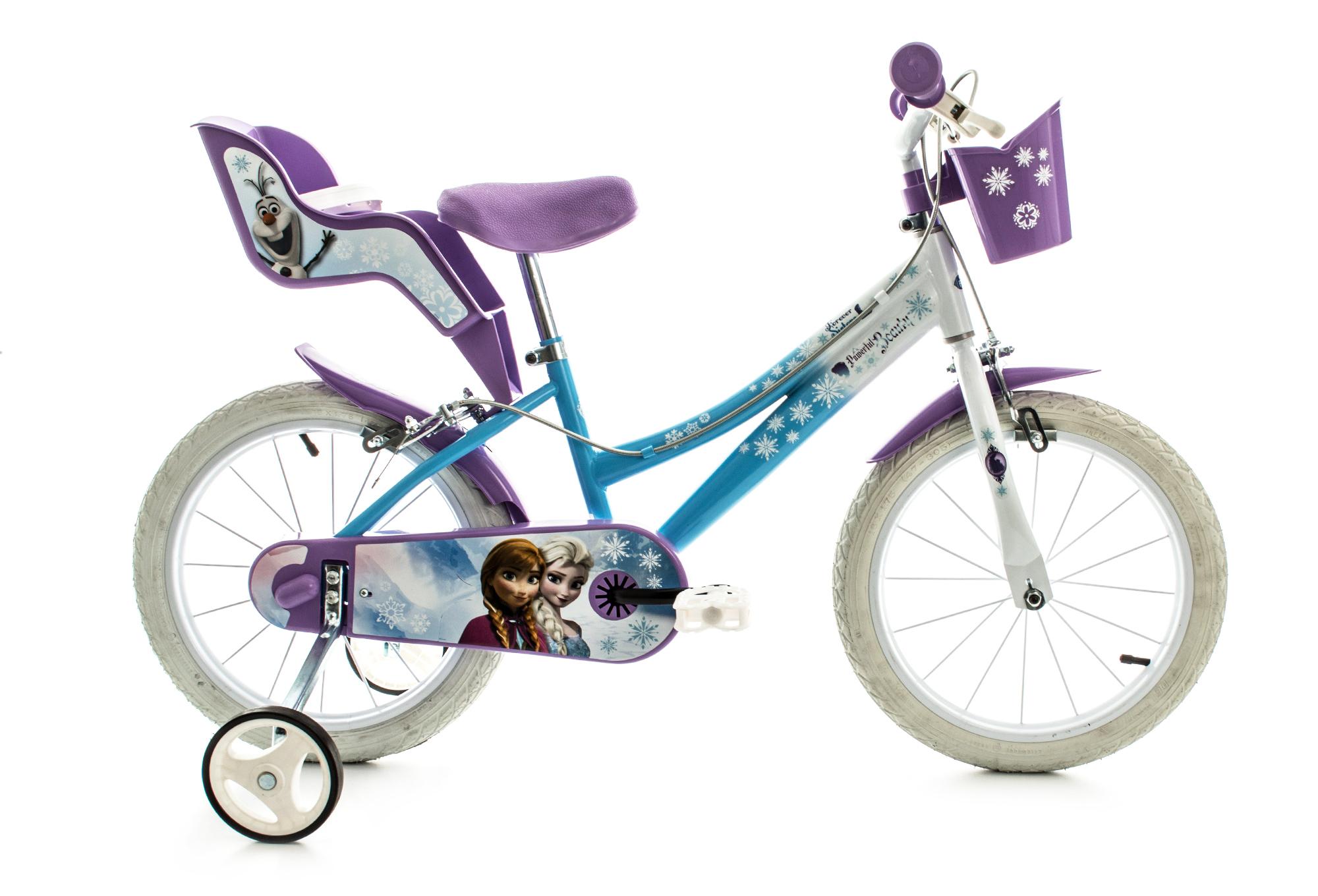 v lo enfant ville enfant dino bikes reine des neiges 16. Black Bedroom Furniture Sets. Home Design Ideas