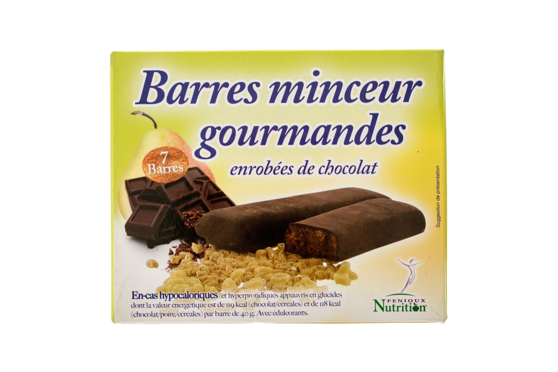 barres proteinees boites de 7 chocolat poire cereales. Black Bedroom Furniture Sets. Home Design Ideas