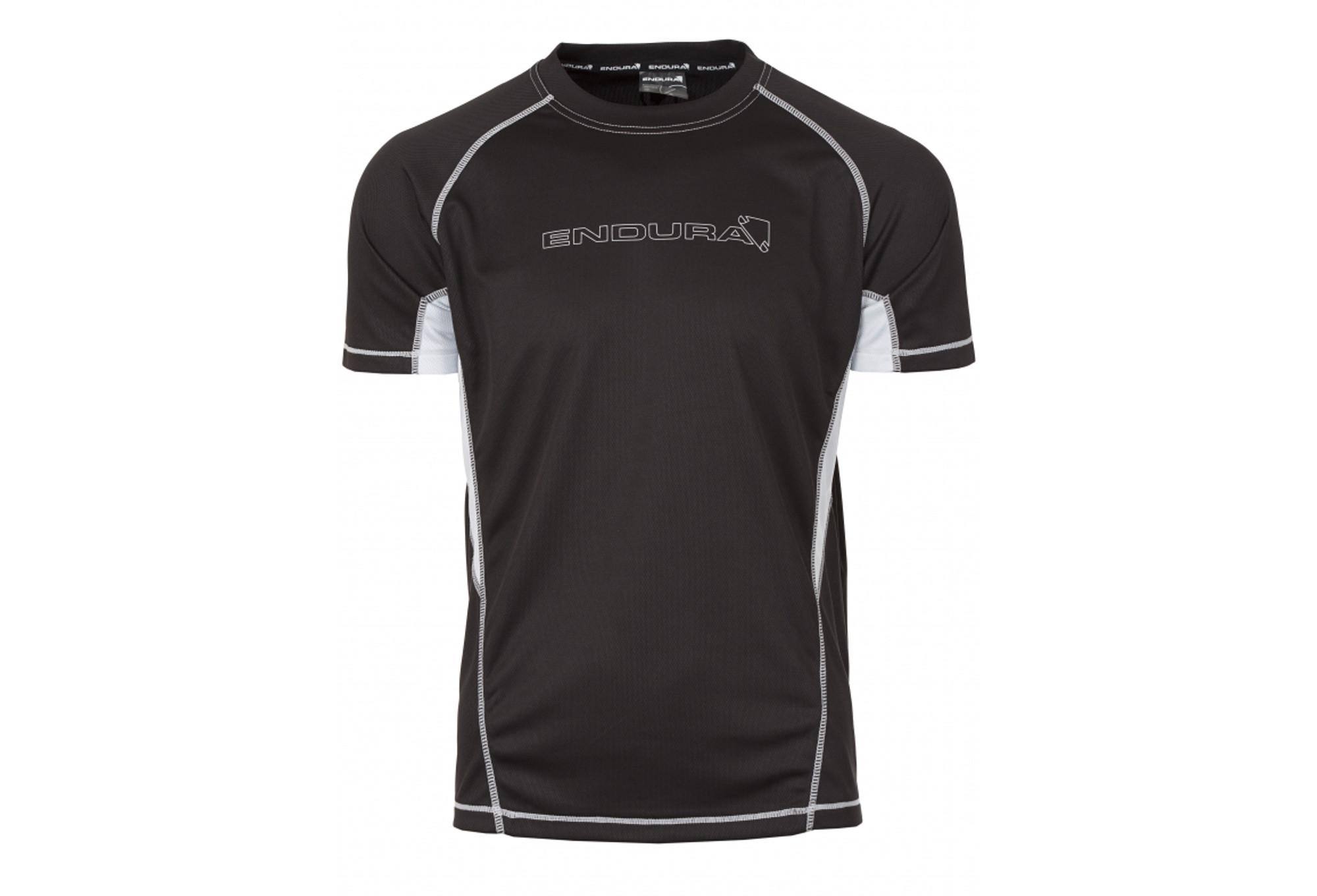 ef42ba793 ENDURA short sleeve jersey Black CAIRN