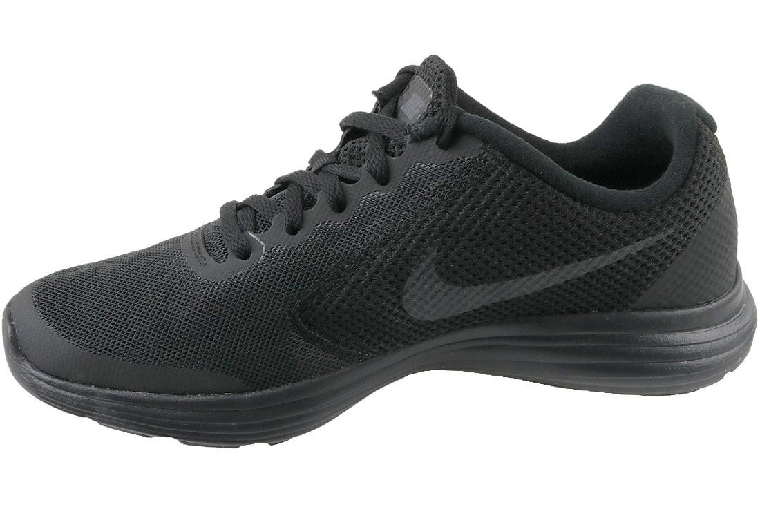 buy popular ee1d7 123b5 Nike Revolution 3 GS 819413-009 Enfant mixte Chaussures de running Noir