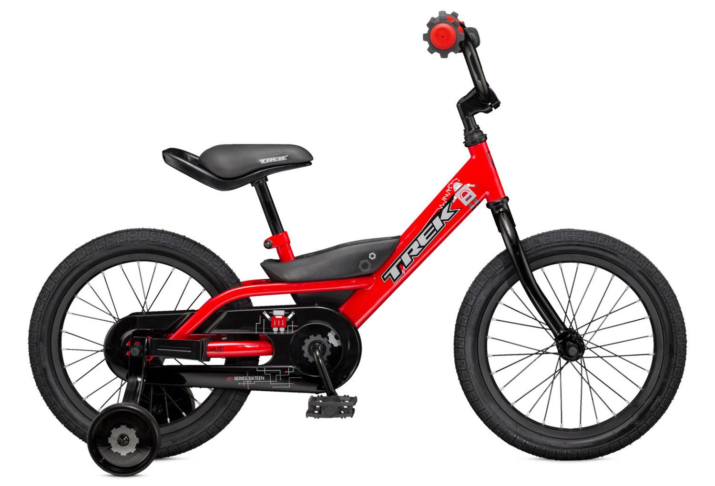 Vélo Enfant Enfant Trek JET 16   Rouge 4 à 6 ans   Alltricks.fr 23bf623ceea1