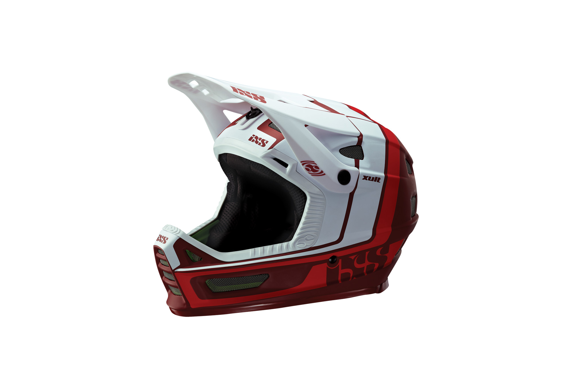 Casque Intégral Ixs Xult Blanc Rouge Alltricksfr