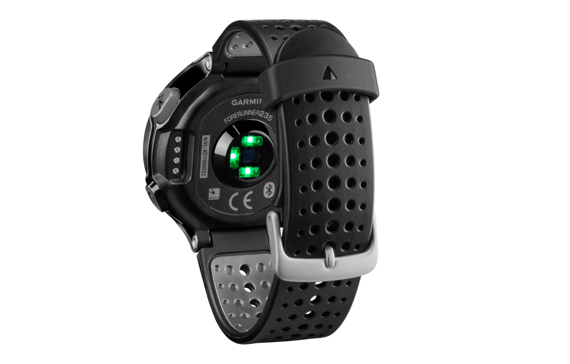 3c1ca5c5f5 Reloj Garmin Forerunner 235 Running HRM Integrado - Negro Gris ...