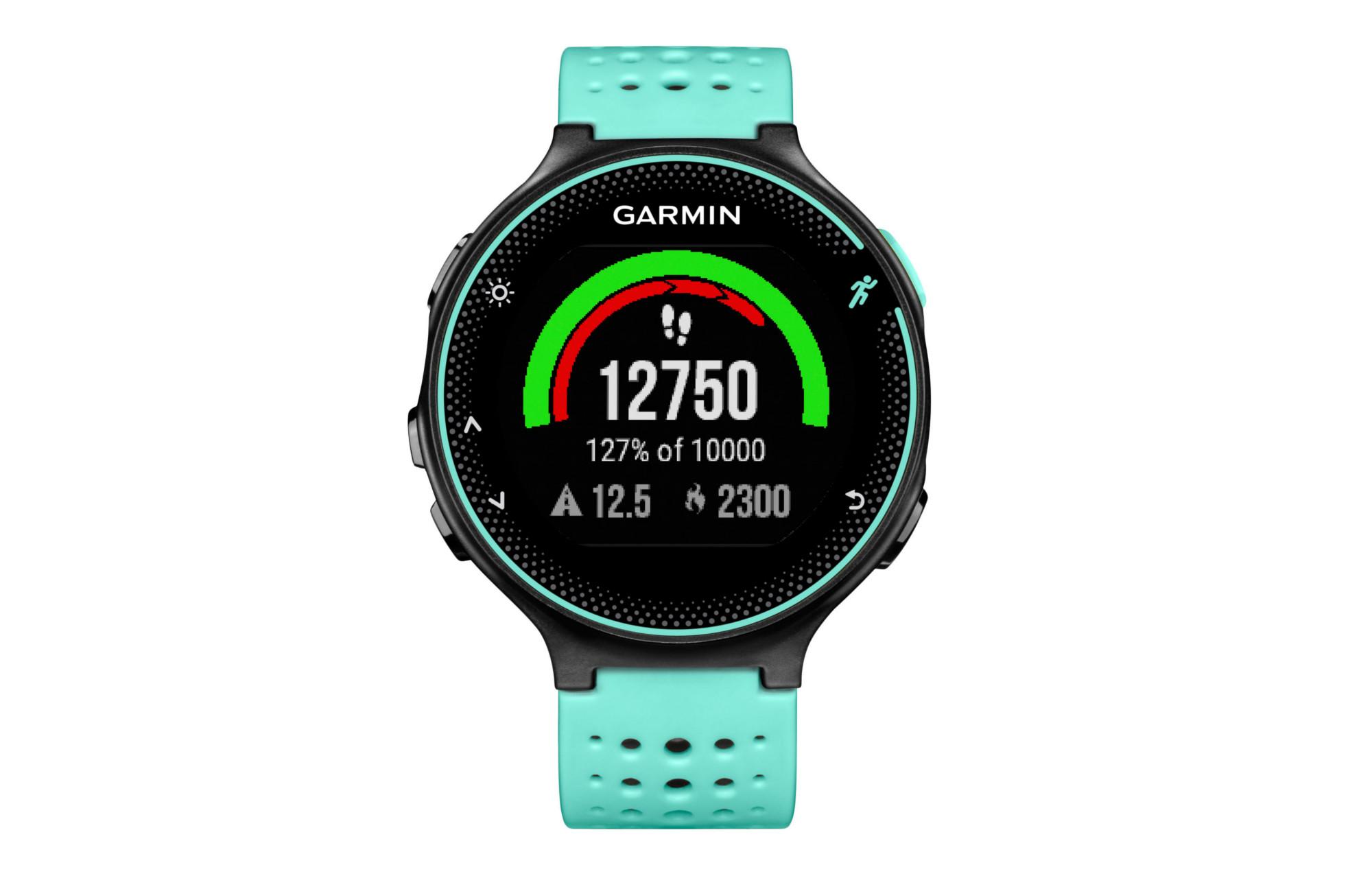 GARMIN Montre GPS Forerunner 235 (Cardio-fréquencemètre intégré) Noir Bleu  Frost 7155136b28f