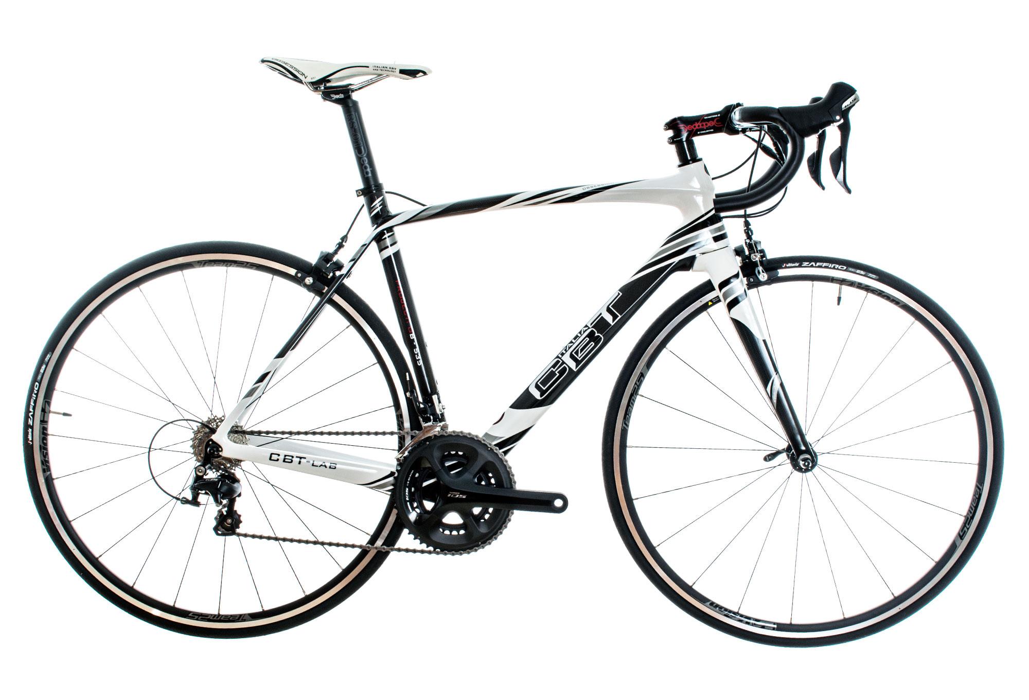 Cbt Italia Road Bike Obsession Shimano 105 11 Speed White Black