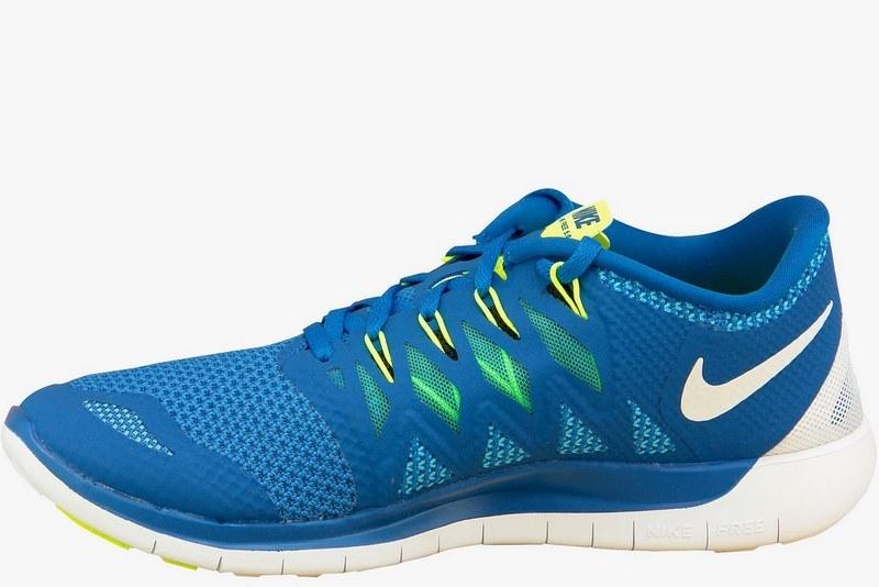 meilleur service e1b34 1650c Nike Free 5.0 642198-401 Homme Chaussures de running Bleu