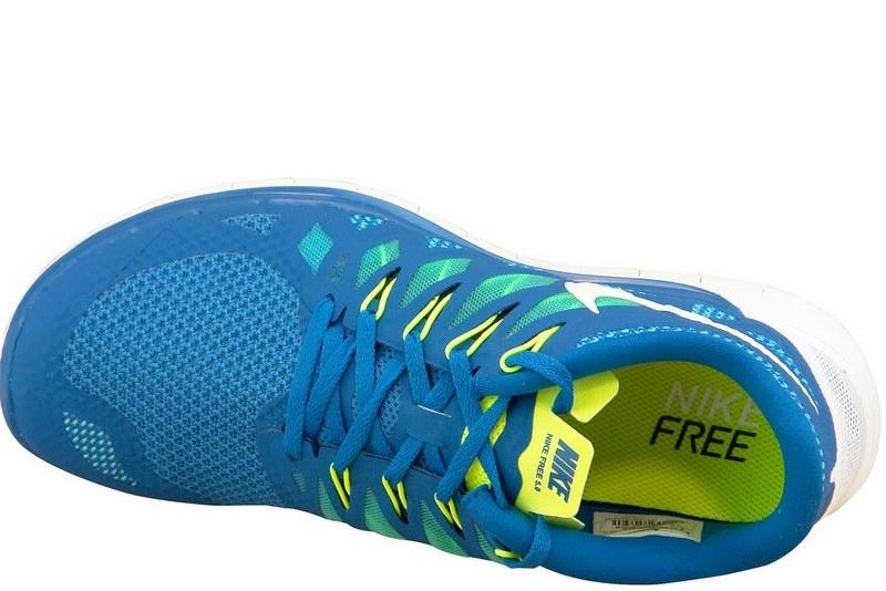 best service f2fb3 c171c Nike Free 5.0 642198-401 Homme Chaussures de running Bleu