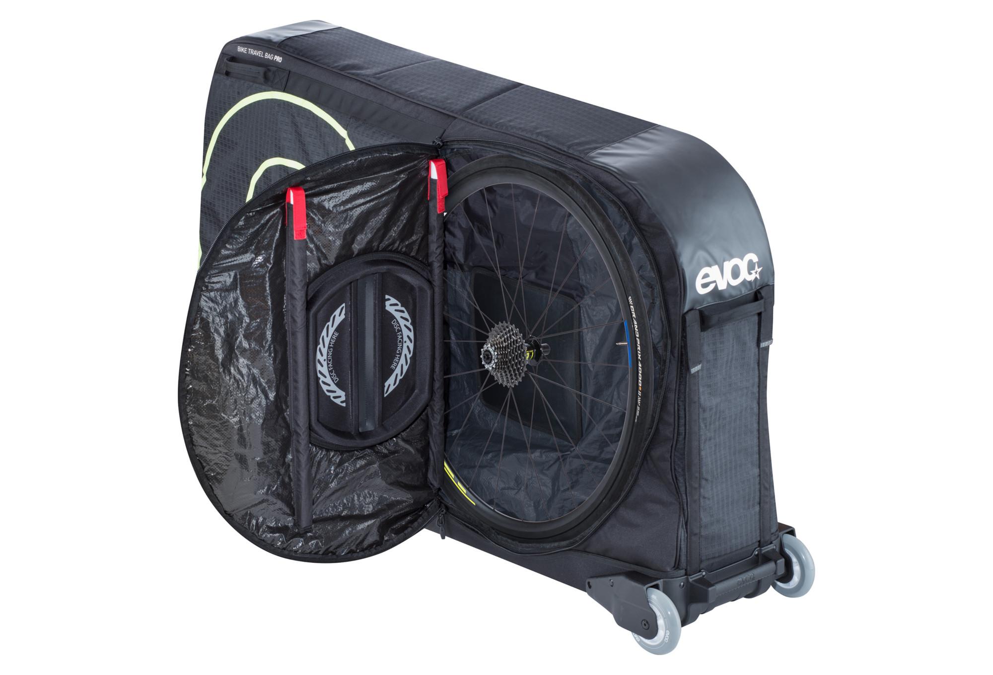 Evoc sac v lo bike travel bag pro 280l noir - Sac a velo ...