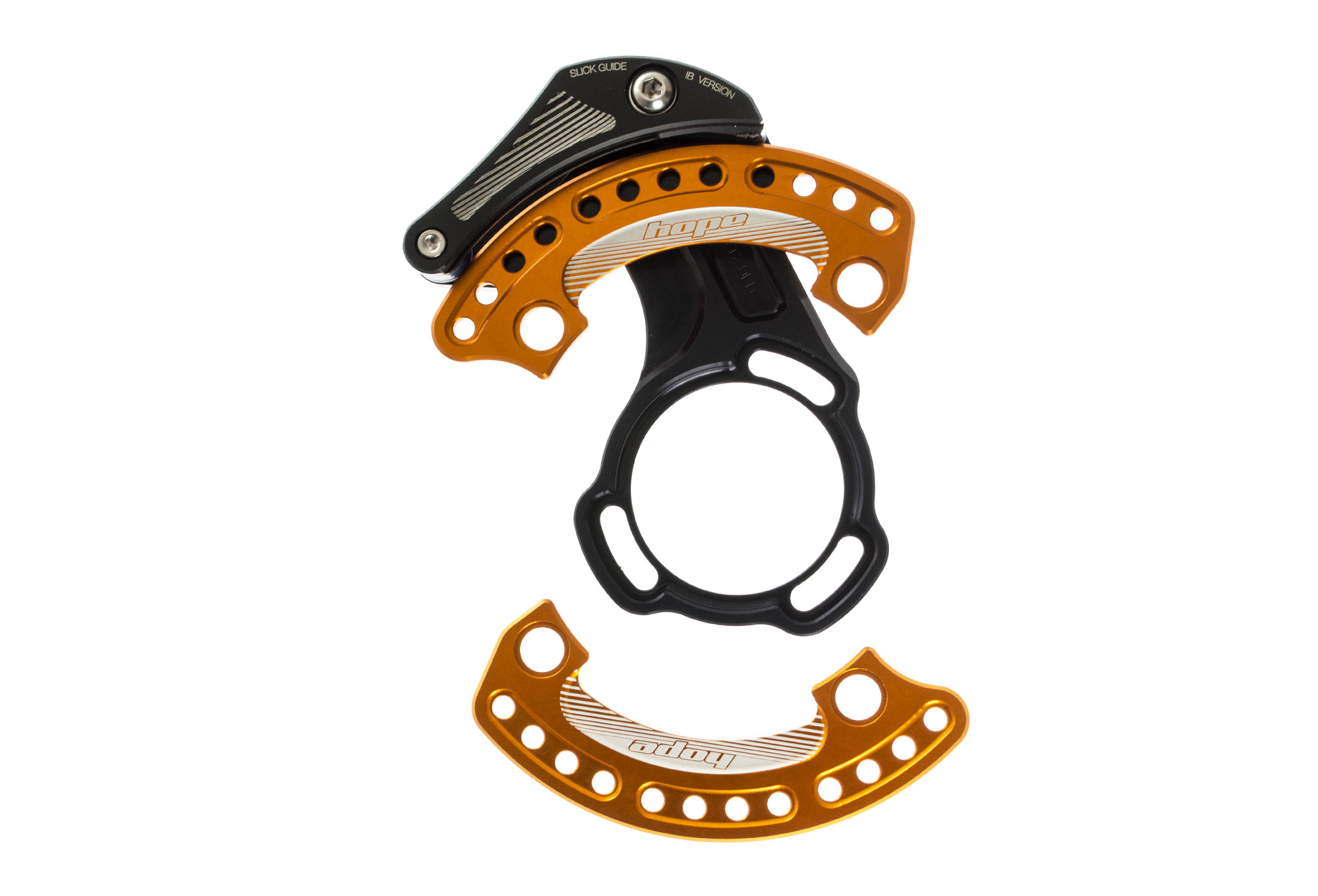 f7a098b9216 Hope Slick Chainguide With Bash Guard - Orange ISCG OLD