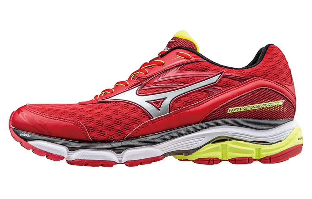 De Chaussures Mizuno 12 Running Wave Rouge Inspire PwznZqxp