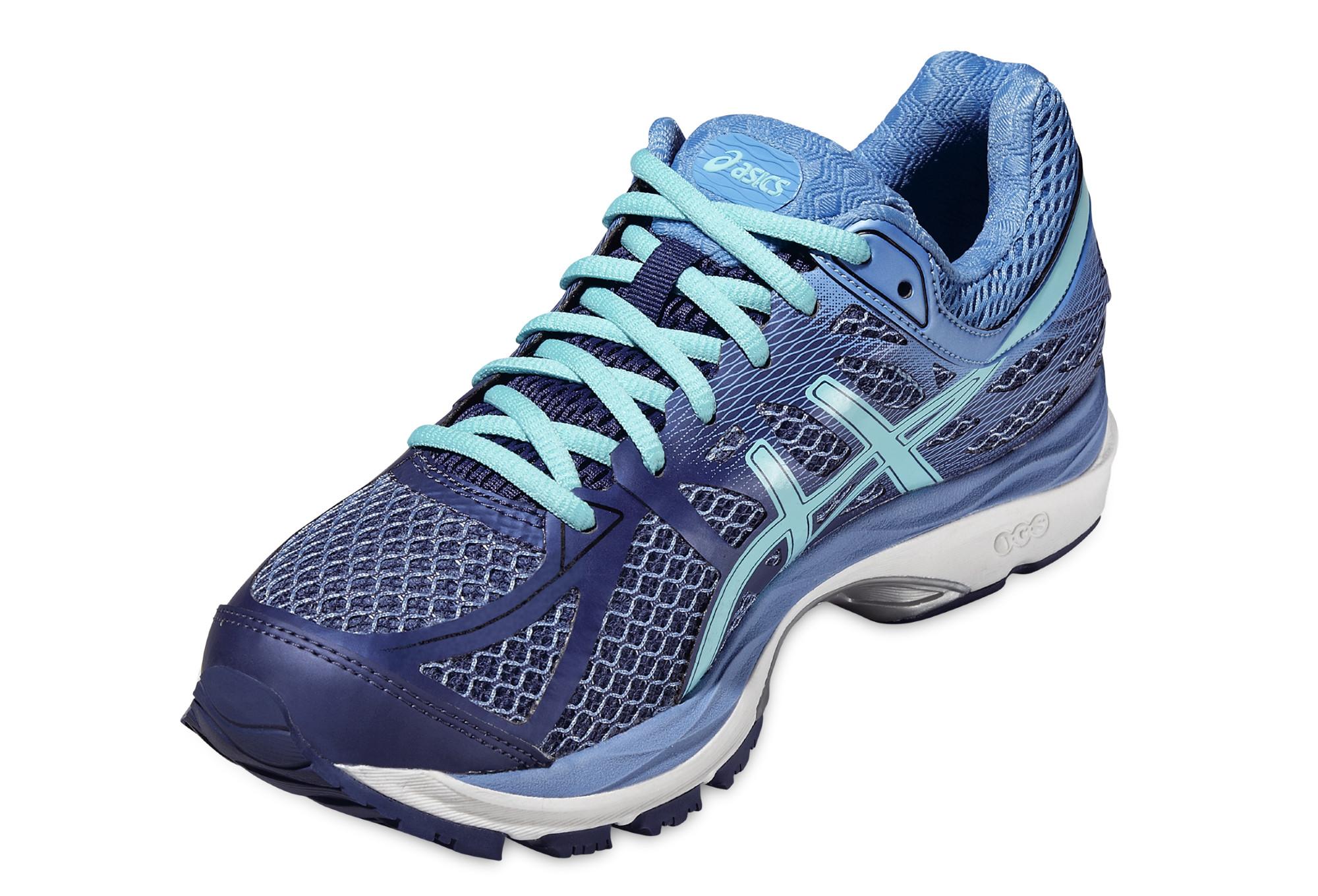 b78c92e6031 Zapatillas Asics CUMULUS 17 para Mujer Púrpura   Azul