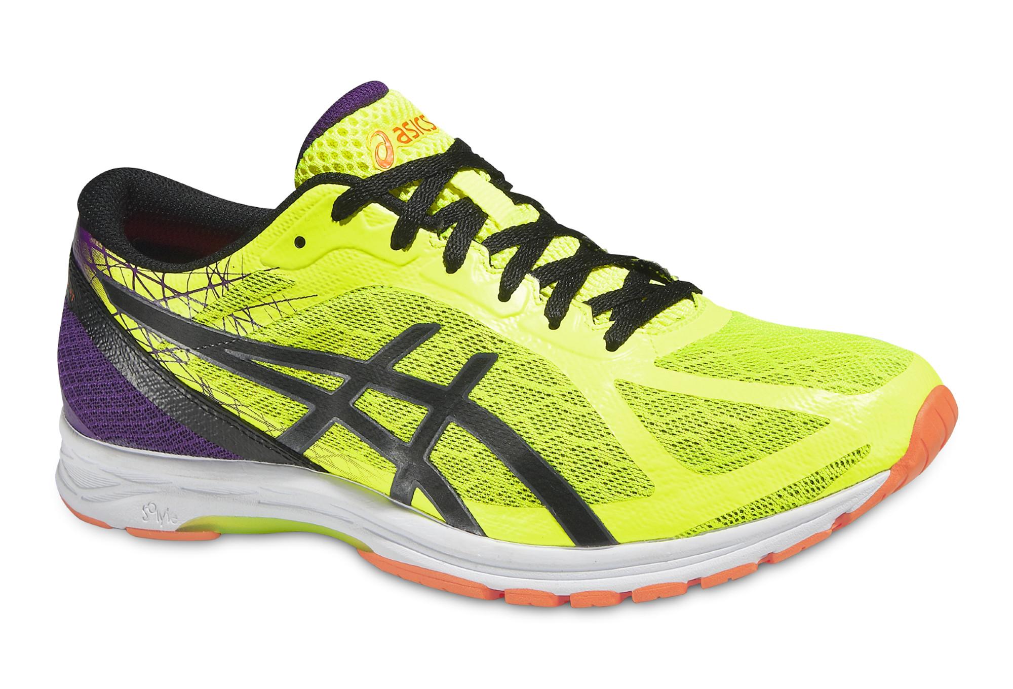 ASICS GEL DS RACER 11 JAUNE Chaussures de running asics ZD6tg9Ezr