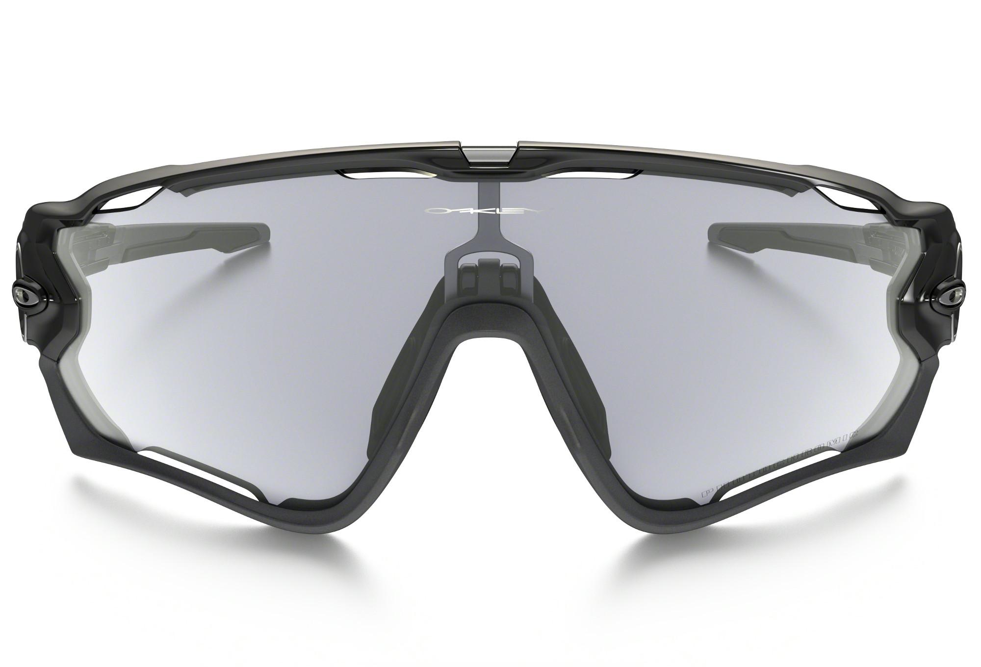 f5abe56598 OAKLEY Sunglasses JAWBREAKER PHOTOCHROMIC Black Clear Black Iridium Ref    OO9290-14