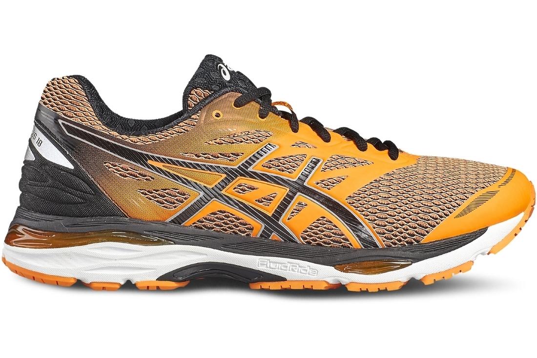 Asics Gel-Cumulus 18 T6C3N-3090 Homme Chaussures de running Orange ... 28f4b9ae3a6f