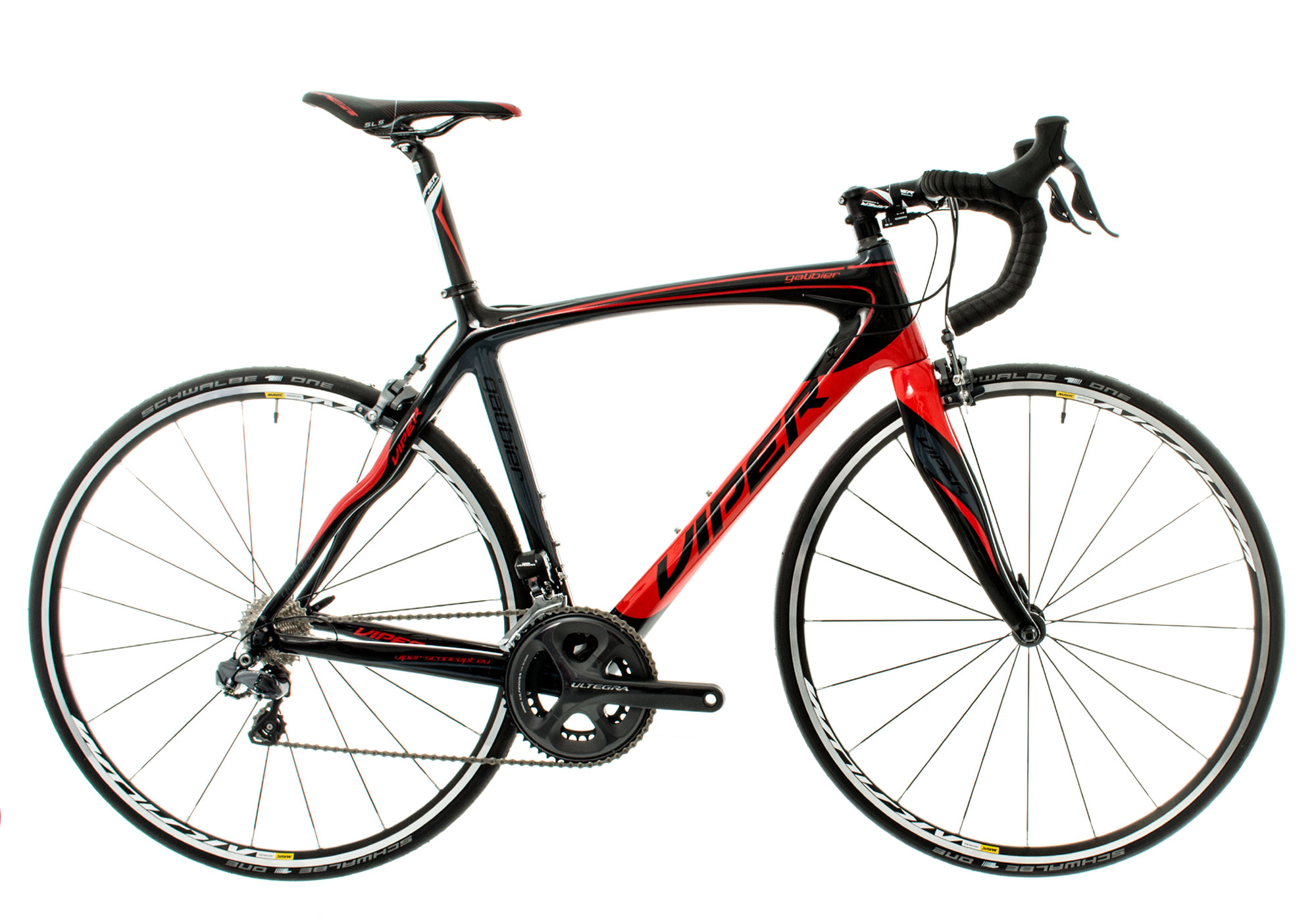 567a763e1ef41 viper 2016 road bike galibier shimano ultegra di2 11s grey red  at n-0.co