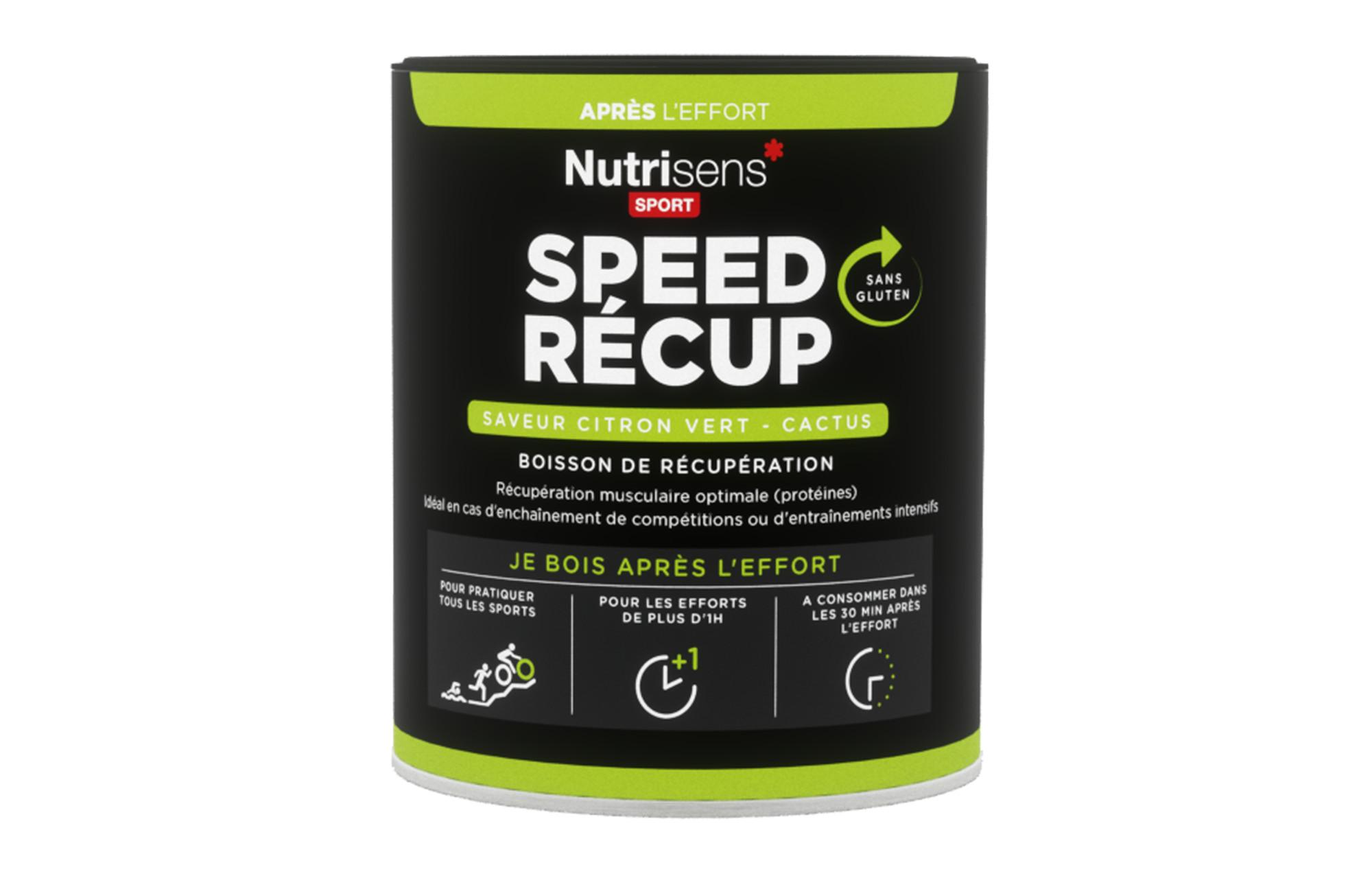 nutrisens boisson de r cup ration speed recup pot de 400g citron vert cactus. Black Bedroom Furniture Sets. Home Design Ideas