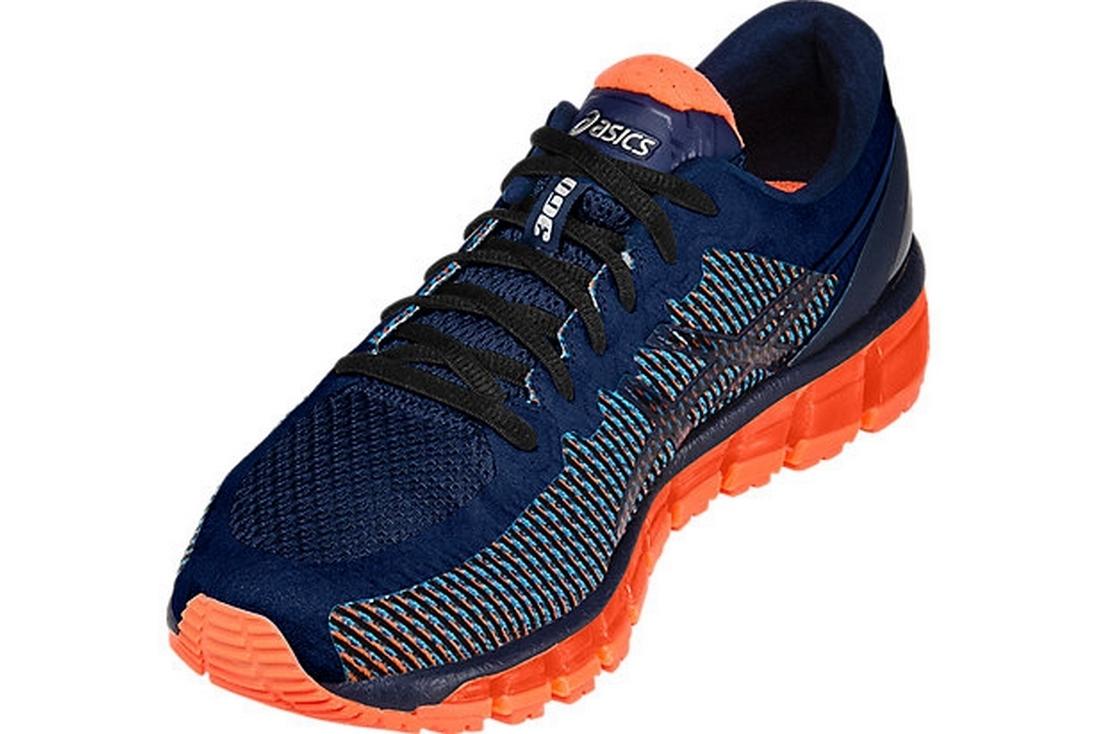 official photos e1427 867f0 Asics Gel-Quantum 360 T6G1N-4101 Homme Chaussures de running Orange