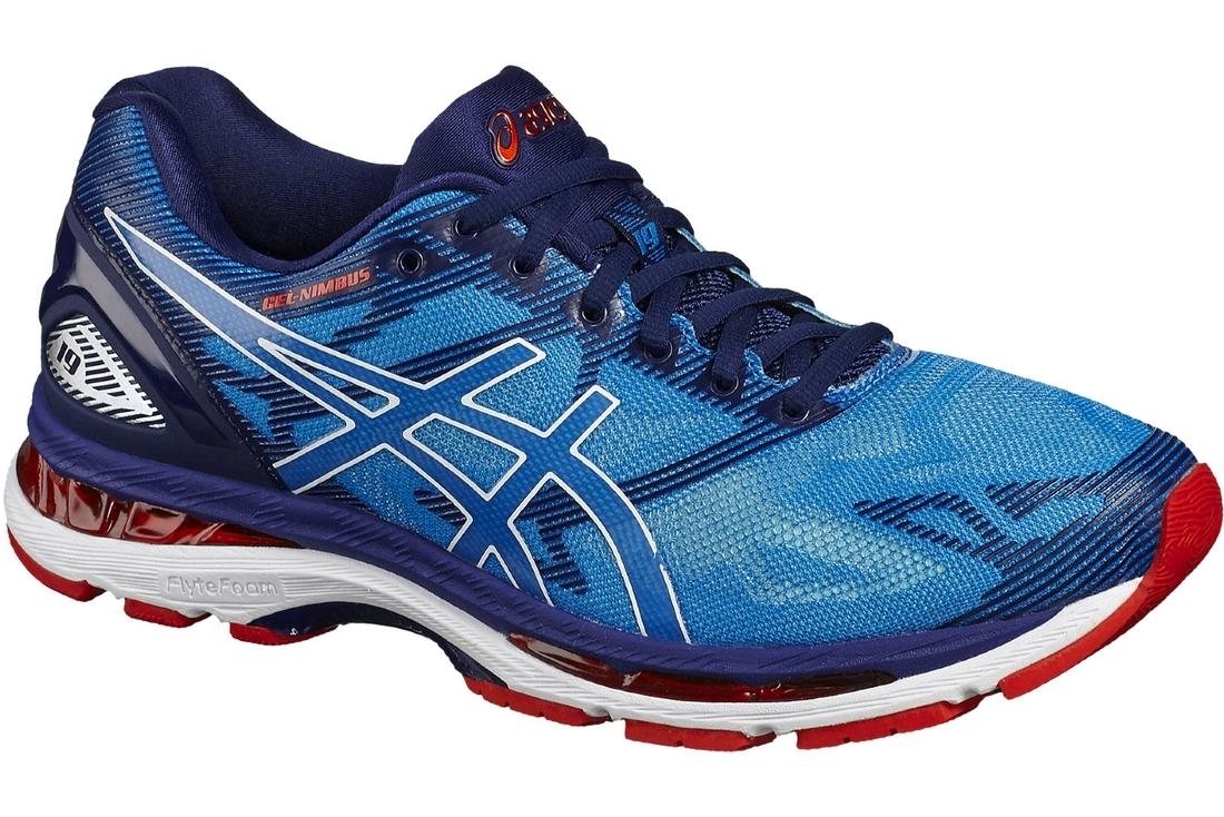 Asics Gel Nimbus 19 T700N-4301 Homme Chaussures de running Bleu ... 433595b22161