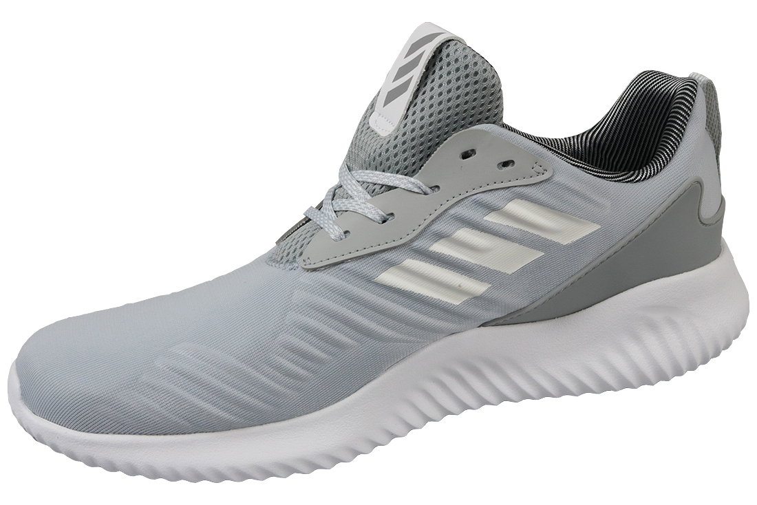 the latest b5f7f aadf9 Adidas Alphabounce RC B42857 Homme Chaussures de running Argent