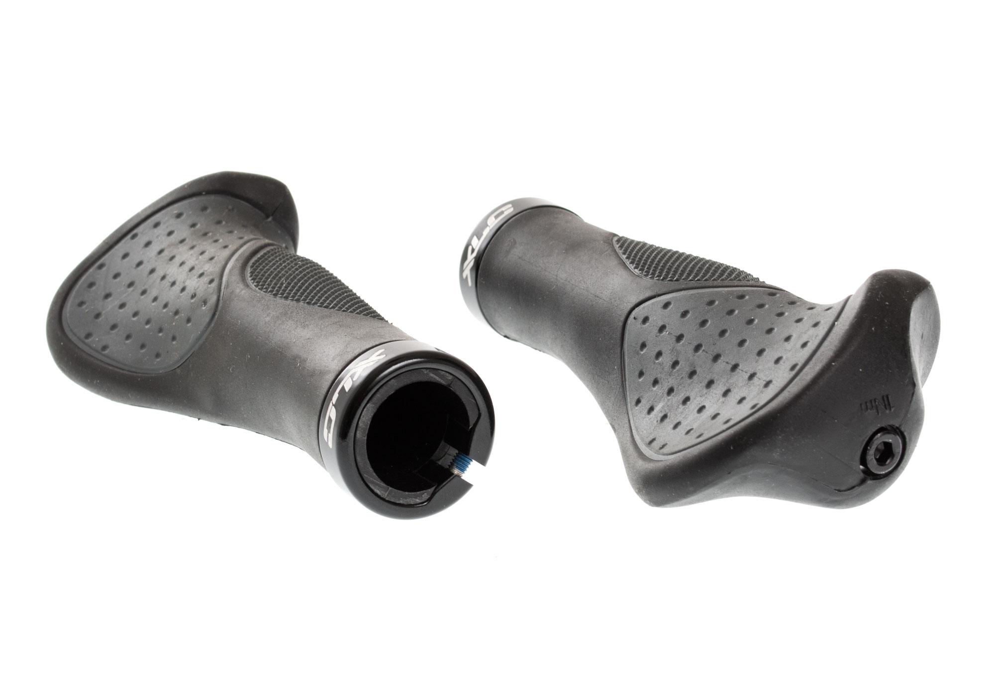 XLC Comfort ergonomique Verrouillage Vélo Poignée Poignées 135 /& 95 MM GRU29