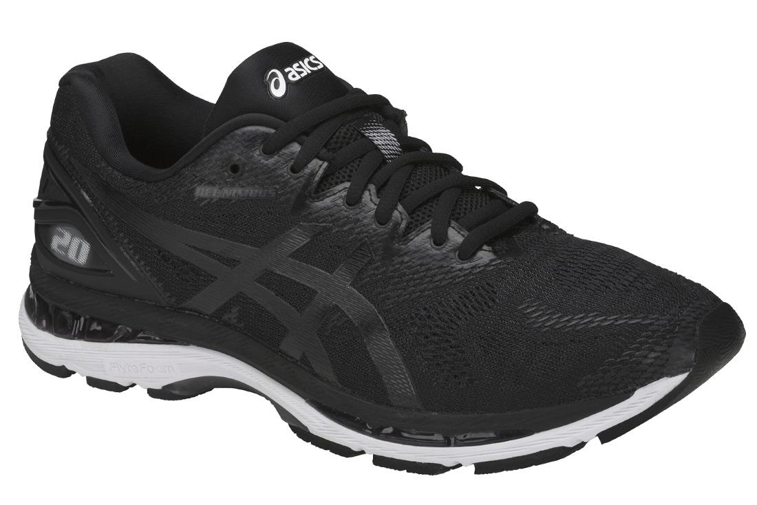 1127f51e63613 Asics Gel Nimbus 20 T800N-9001 Homme Chaussures de running Noir ...