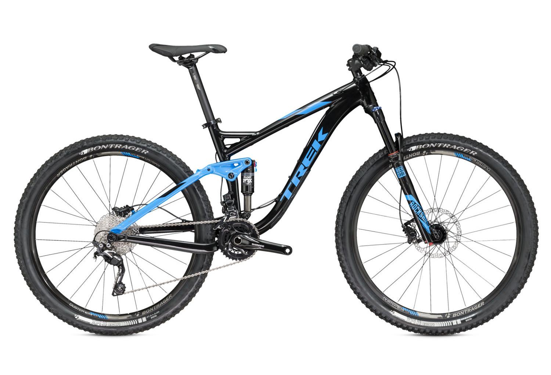 bici completa trek 2016 fuel ex 7 27 5 u0026 39  u0026 39  nera blu