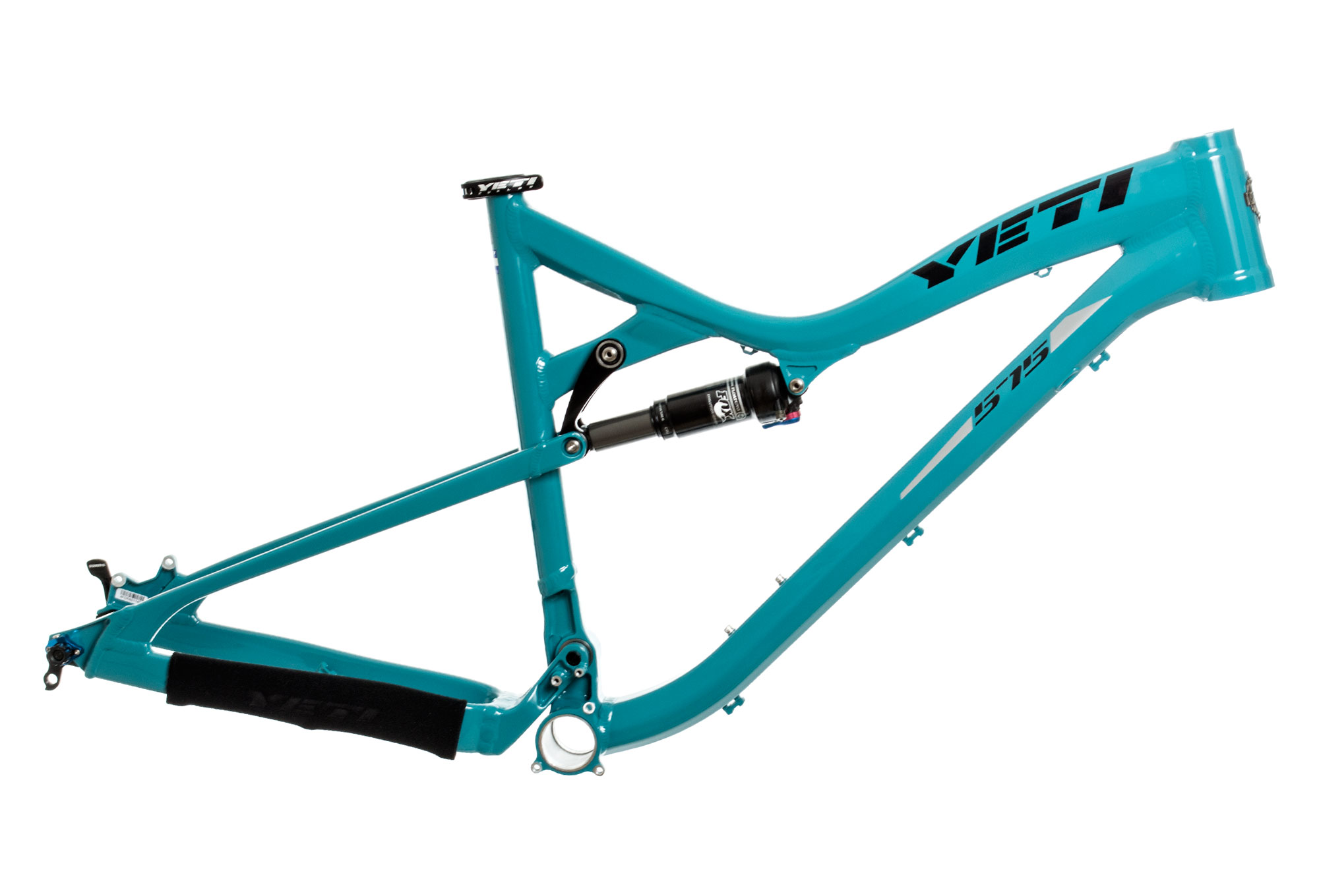 YETI 2014 575 Frame Turquoise 27.5\'\' 146mm + CTD Adjust shock ...