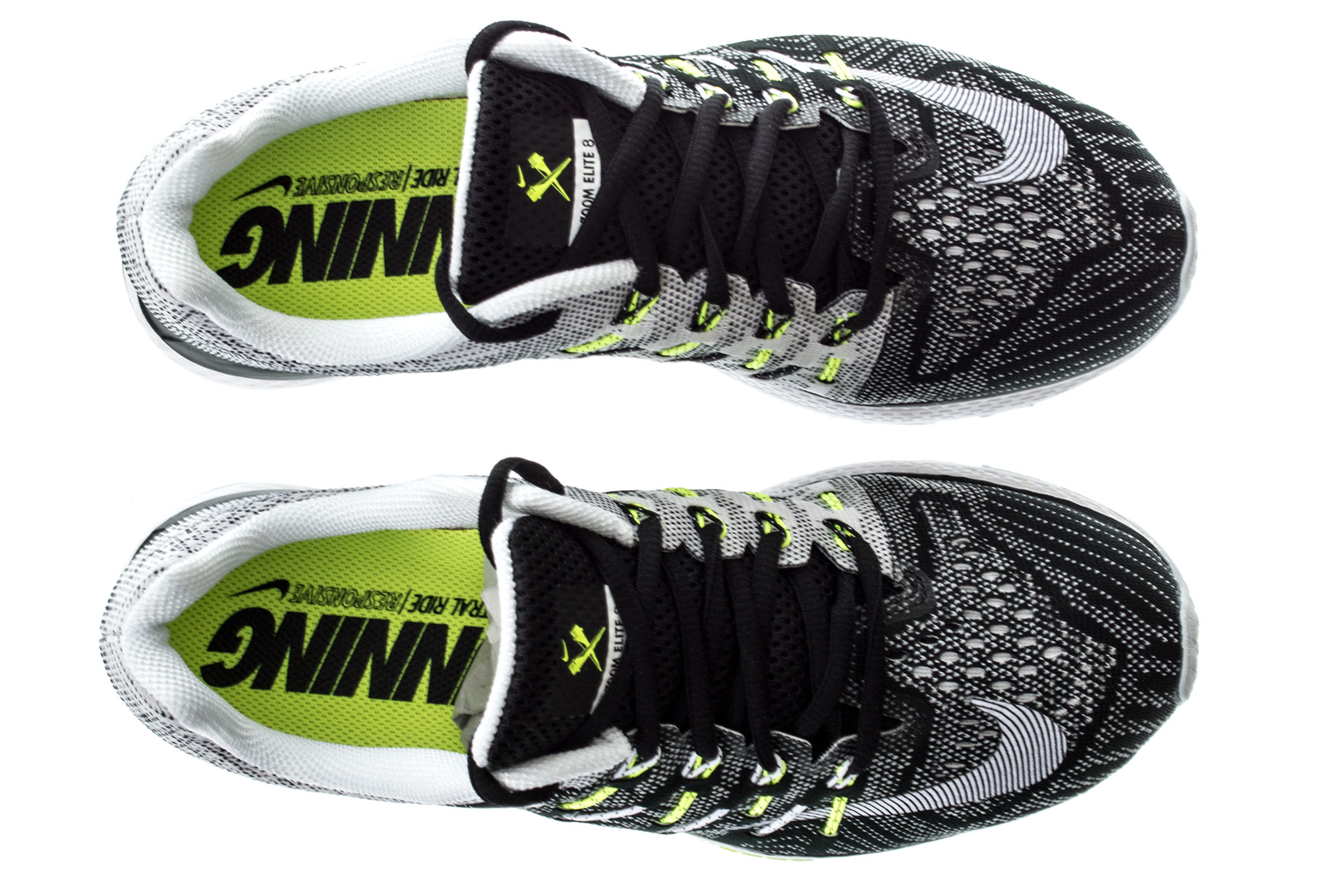new concept e1bc2 925a0 NIKE Shoes AIR ZOOM ELITE 8 CP White Black Men