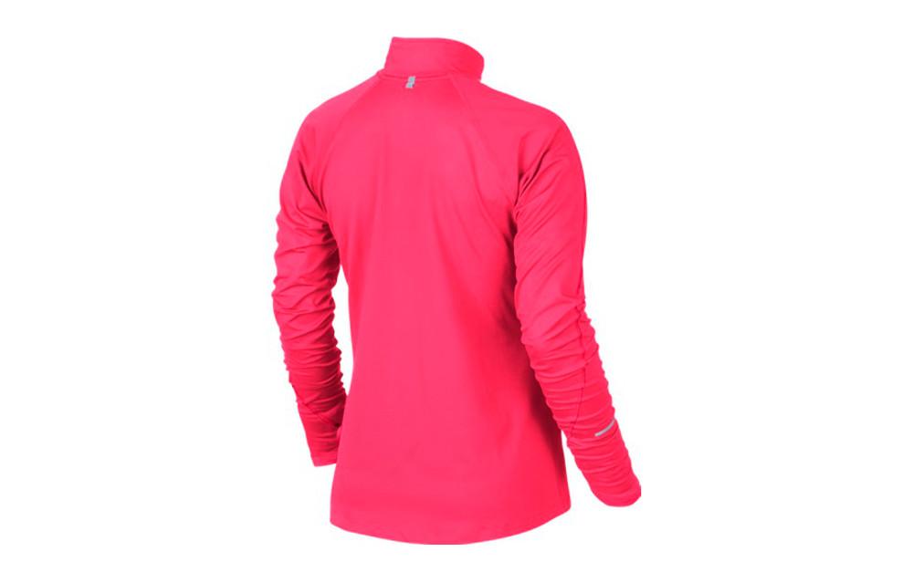 nike sweat shirt element half zip rose femme. Black Bedroom Furniture Sets. Home Design Ideas