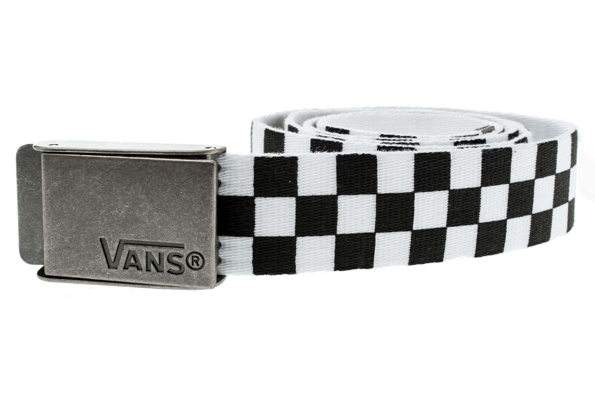 vans ceinture deppster noir blanc carreaux. Black Bedroom Furniture Sets. Home Design Ideas