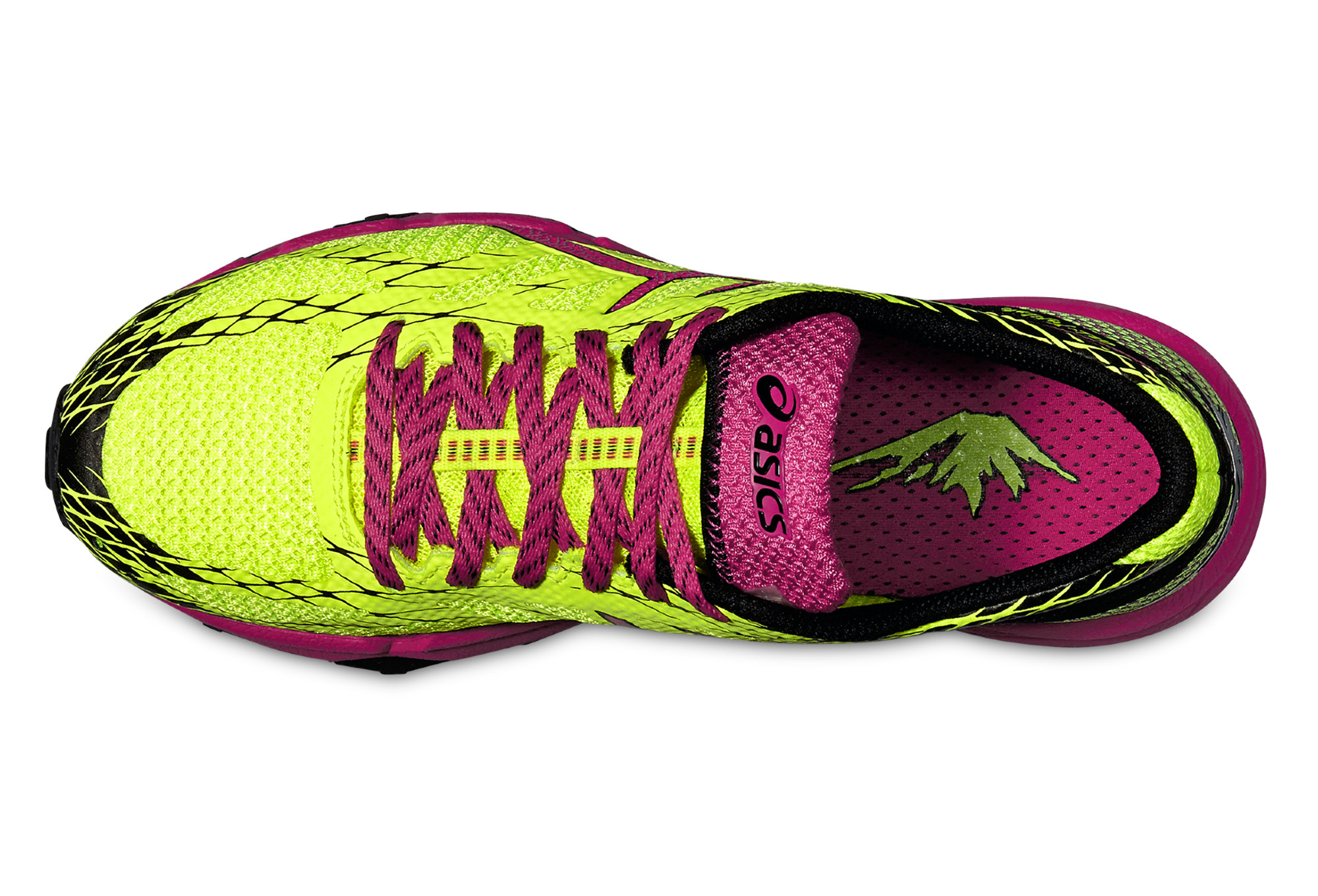 Trail Noir Fujilyte Chaussures Femme Gel De Asics Jaune Rose 5Aj43RLq