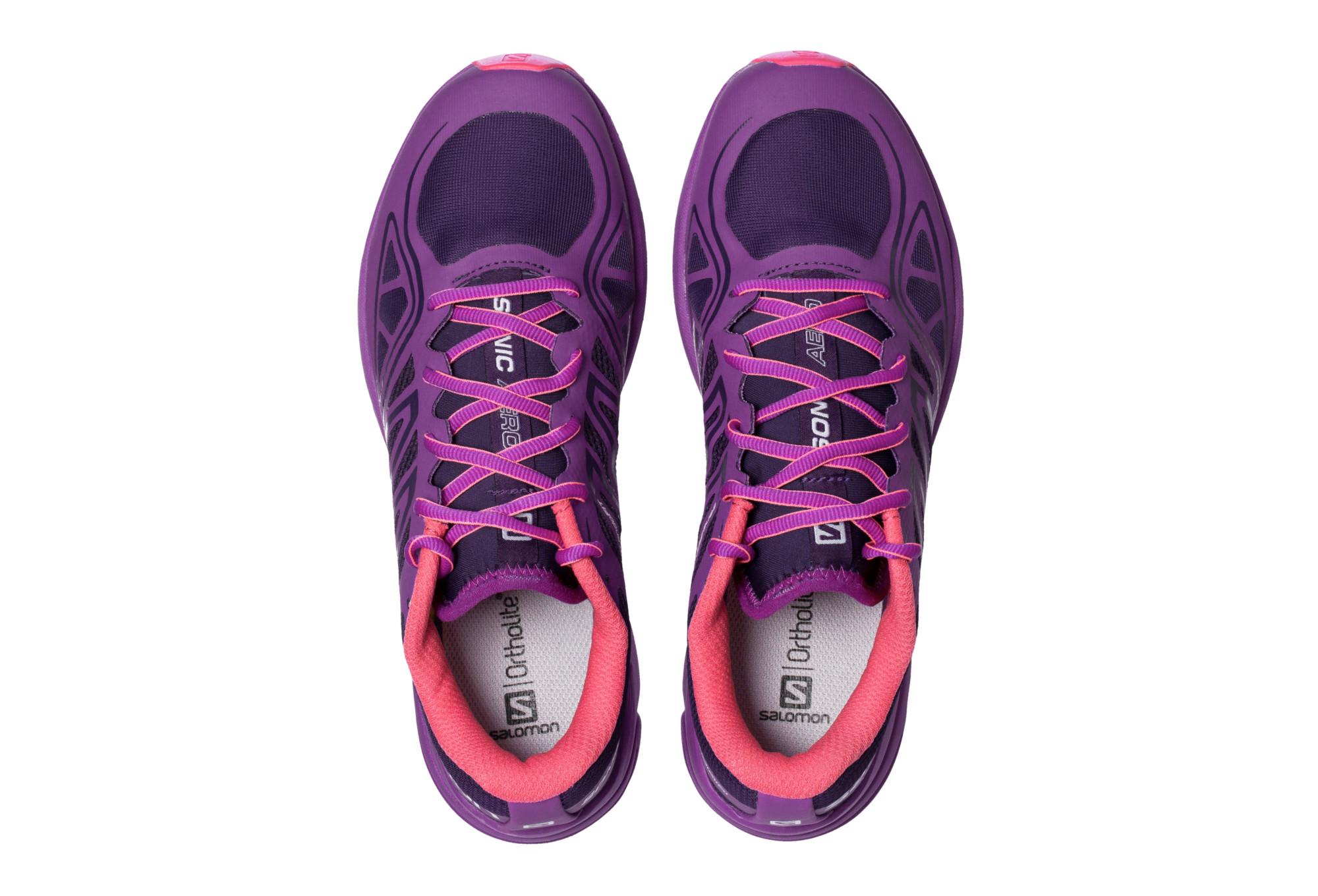 salomon shoes sonic aero purple pink alltricks