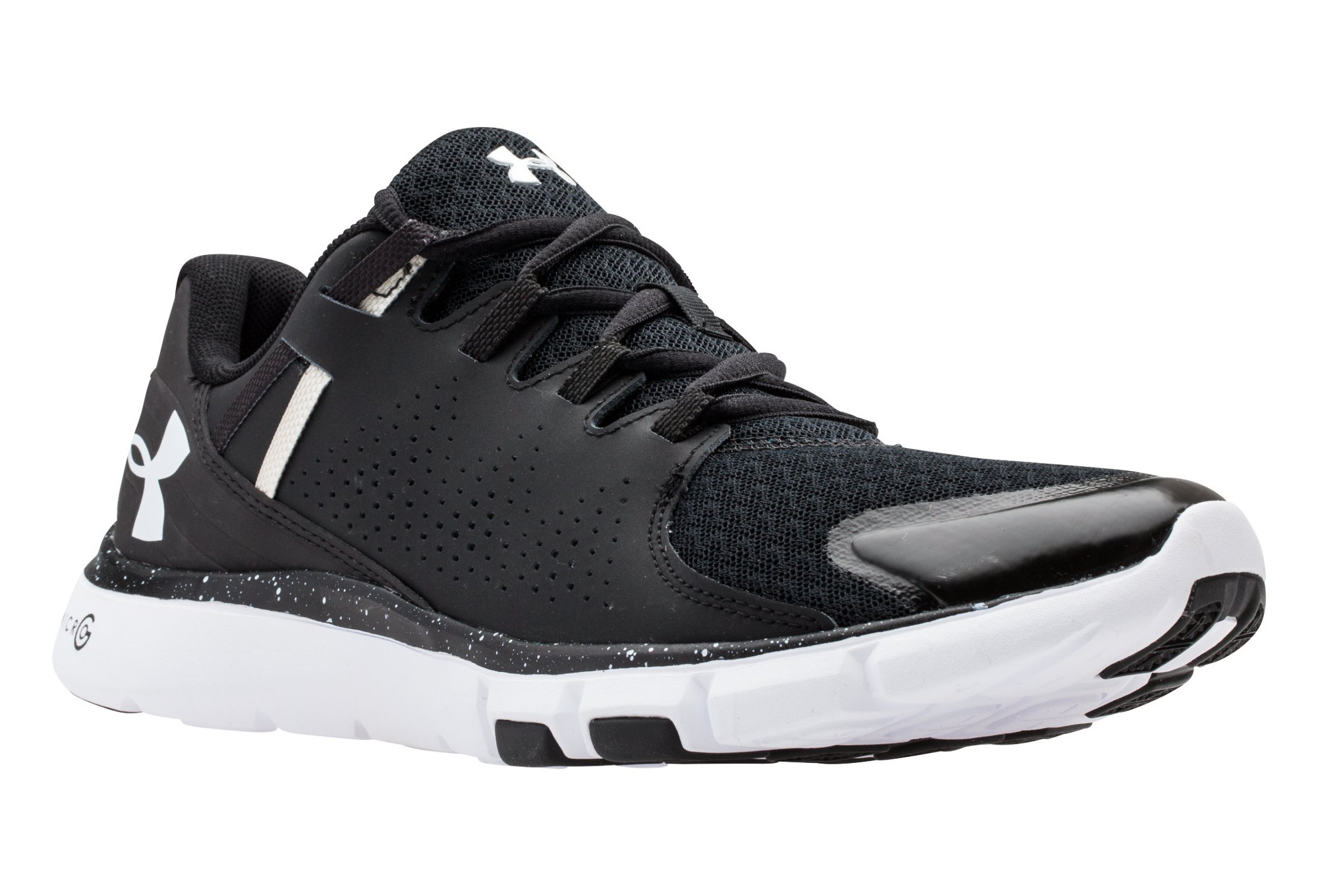 reputable site 19a86 5f2c8 UNDER ARMOUR MICRO G LIMITLESS Pair of Shoes Black White Women