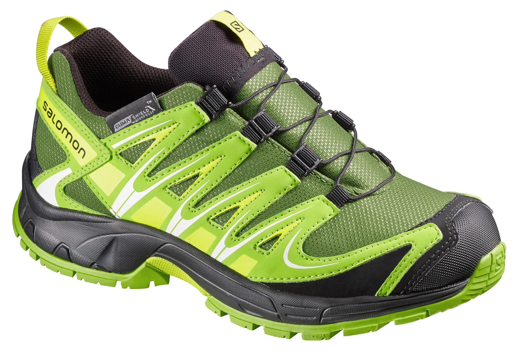 Cswp Salomon Chaussures Pro 3d Xa Noir Vert Enfant PwpC4qz