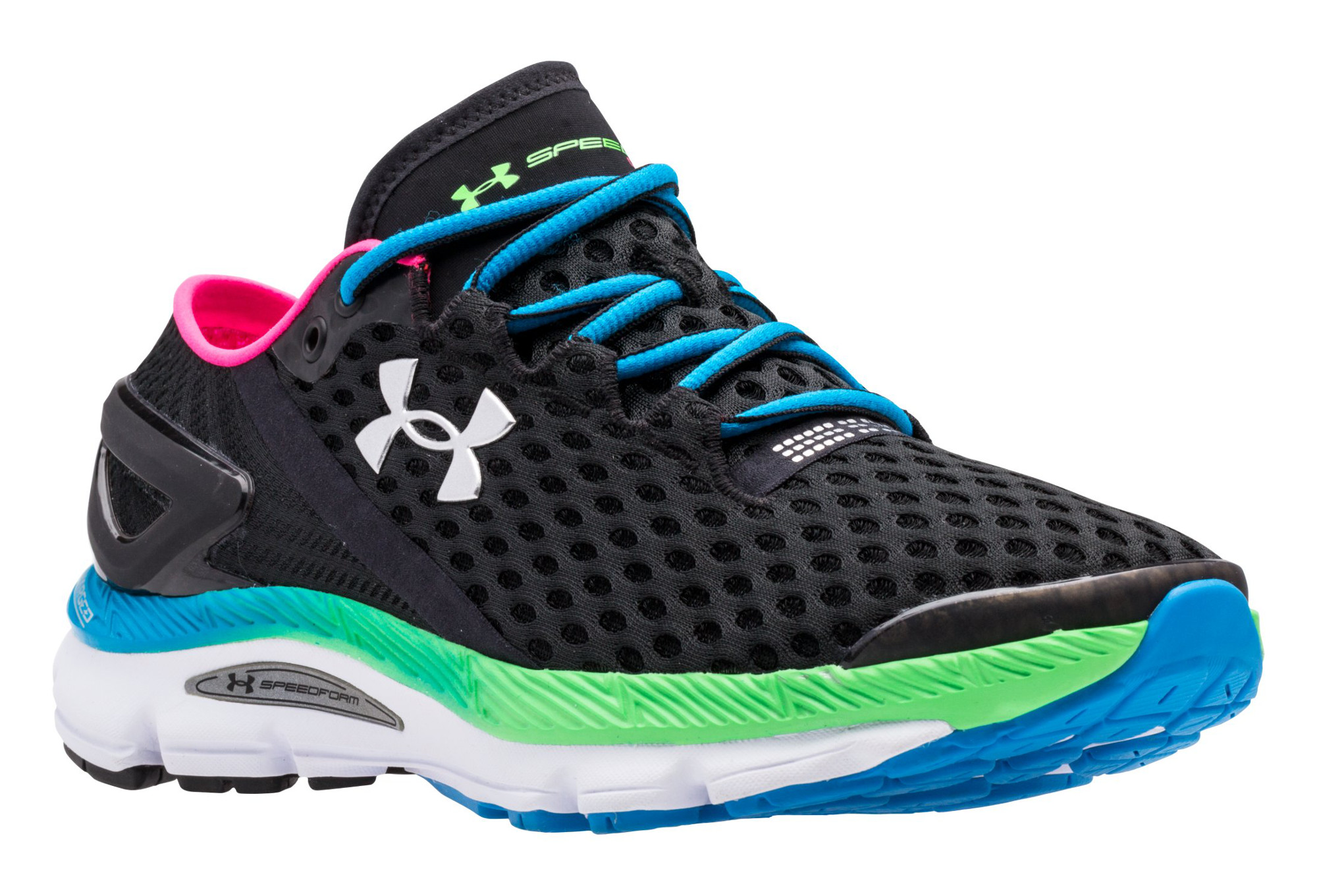 UNDER ARMOUR SPEEDFORM GEMINI 2 Pair of Shoes Black Multi-color Women 3e0509e89