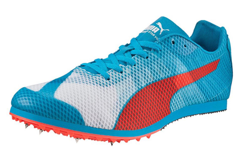 De Puma Bleu Chaussures Running Star Evospeed V4 Rouge Blanc Uzxwqz