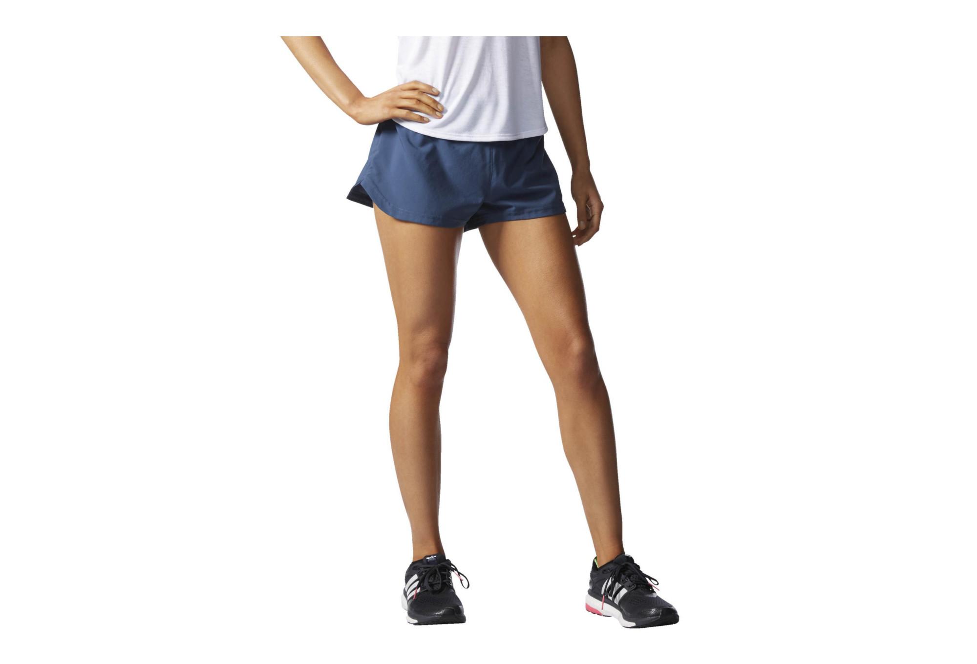 4439af41a adidas SUPERNOVA GLIDE Shorts Blue Women